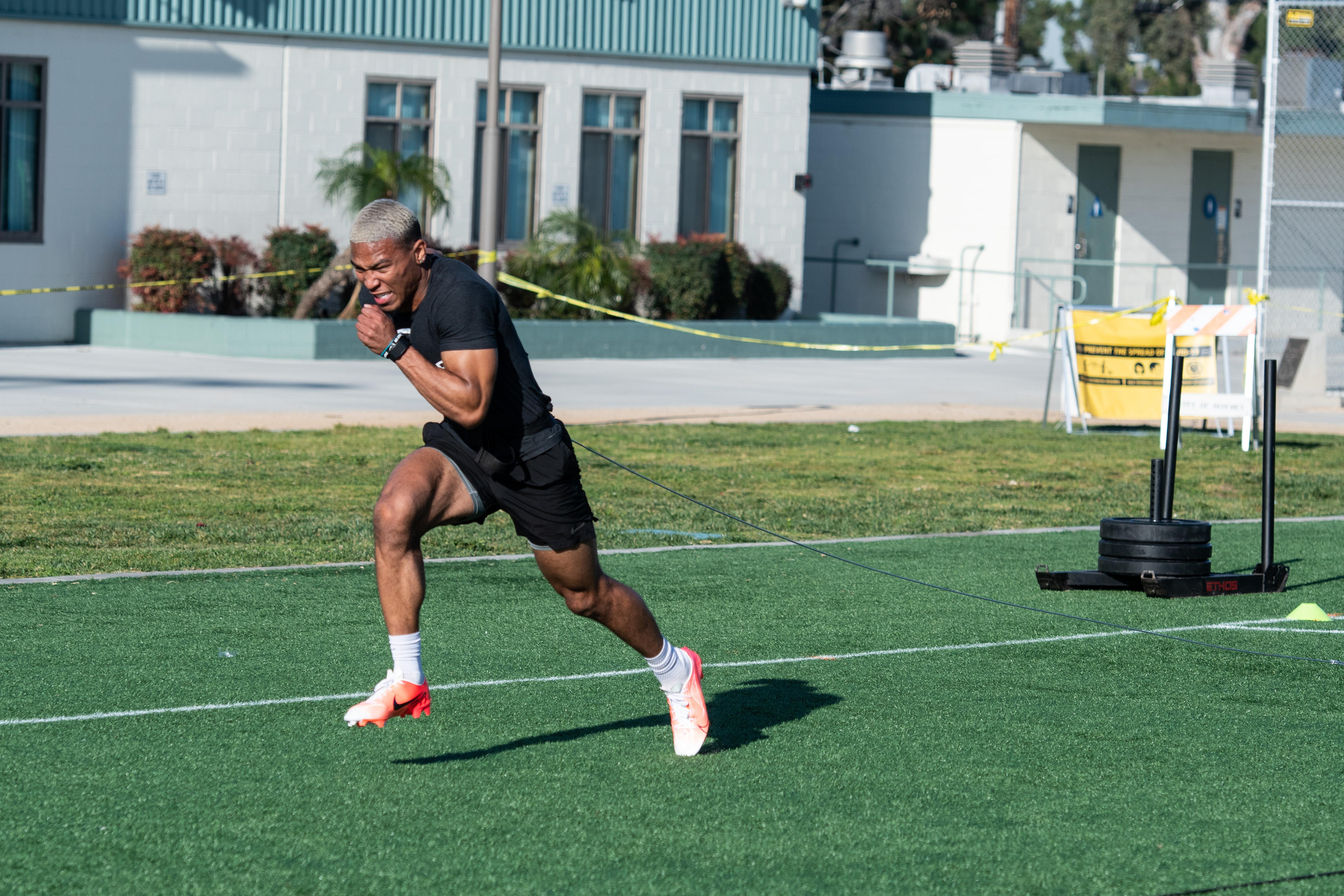 American football player Amon-Ra St. Brown...