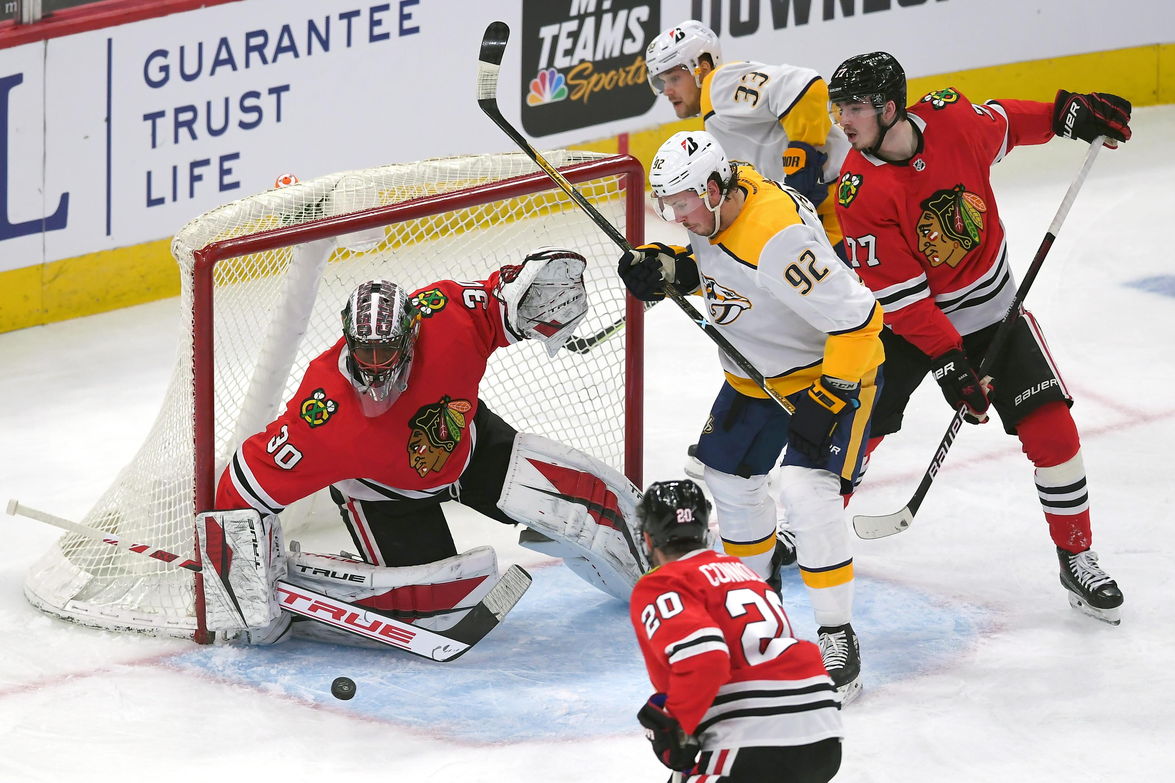 NHL: APR 23 Predators at Blackhawks