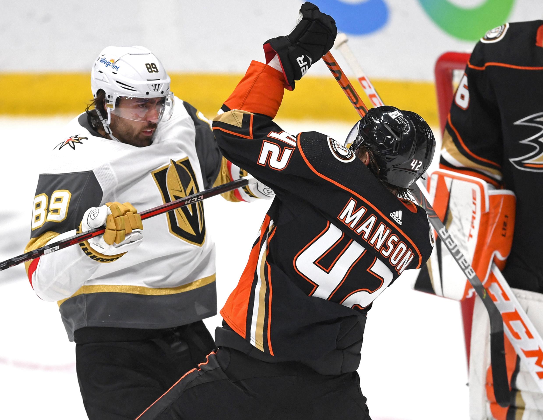 NHL: Vegas at Anaheim Ducks