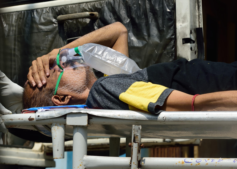 Covid-19 patients in Kolkata, India.