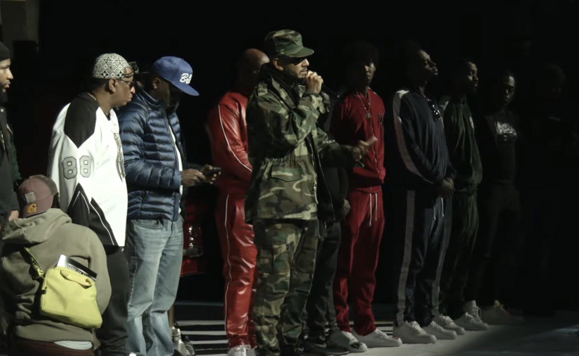 Swizz Beatz and Ruff Ryders at DMX memorial service