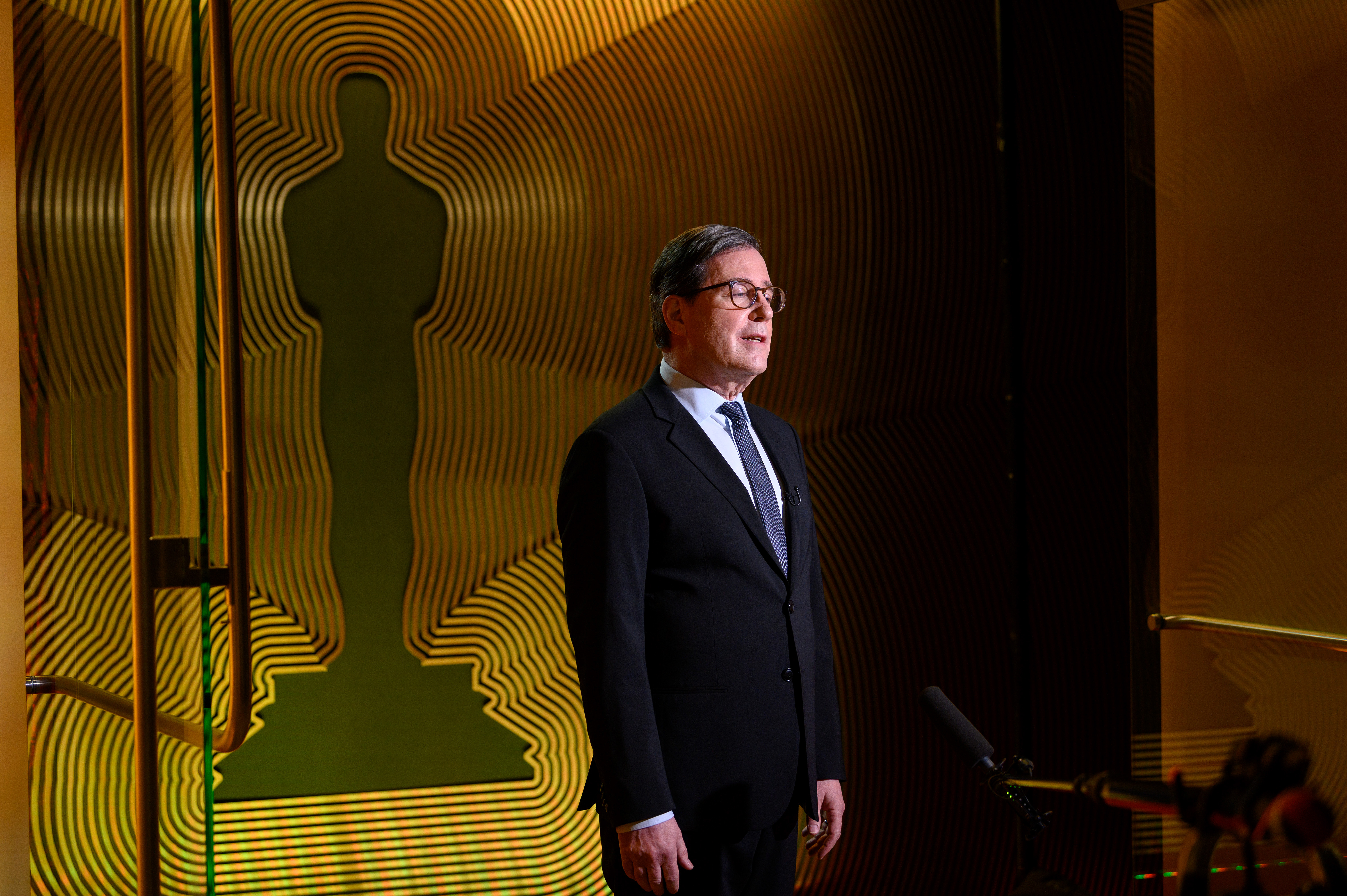 In this handout image provided by A.M.P.A.S. Academy President David Rubin introduces the nominations for the 93rd Academy Awards Nominations Announcement on March 15, 2021.
