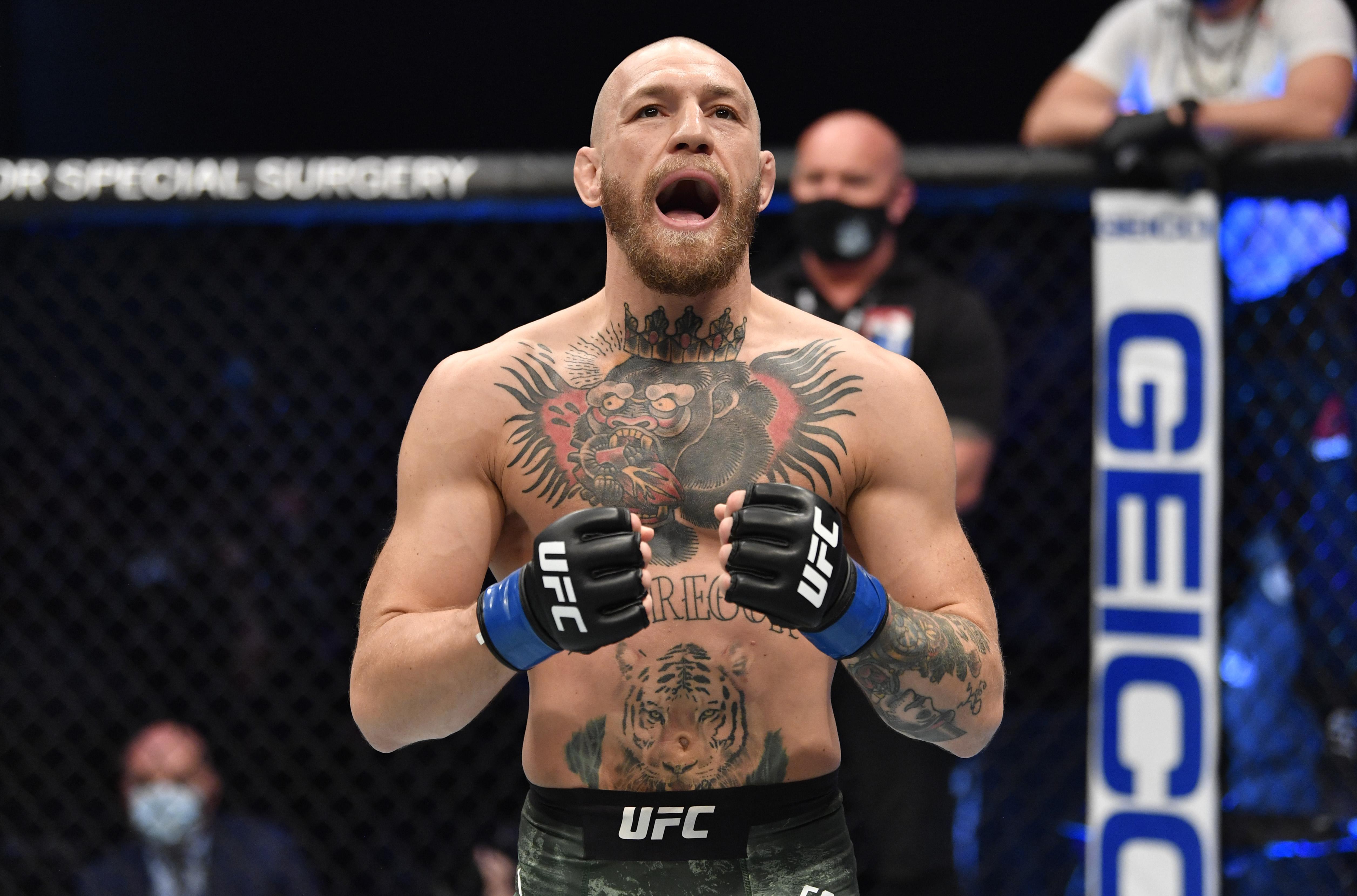 UFC 257: Dustin Poirier v Conor McGregor