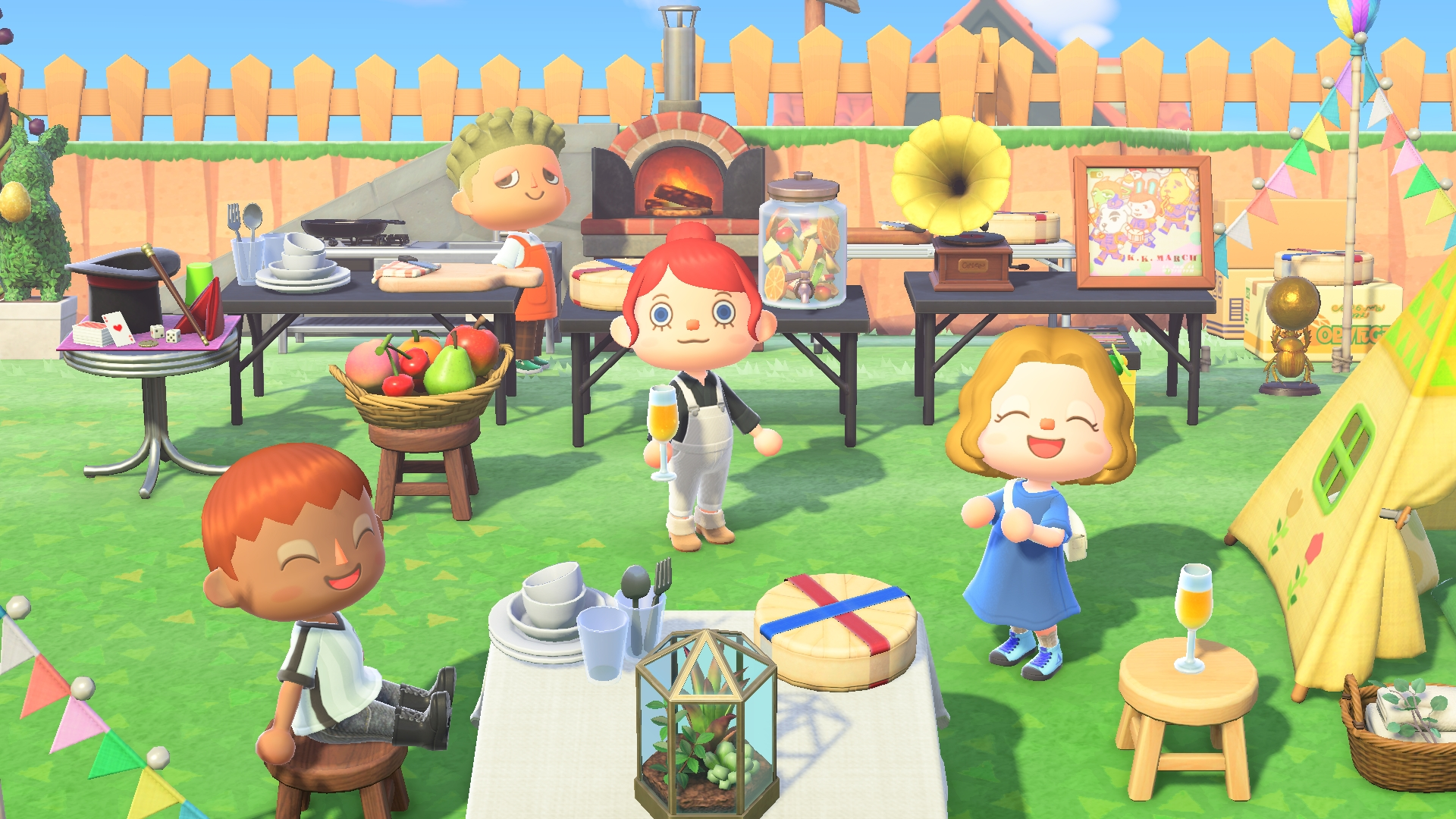 Cheese Rolling Day items for Animal Crossing: New Horizons