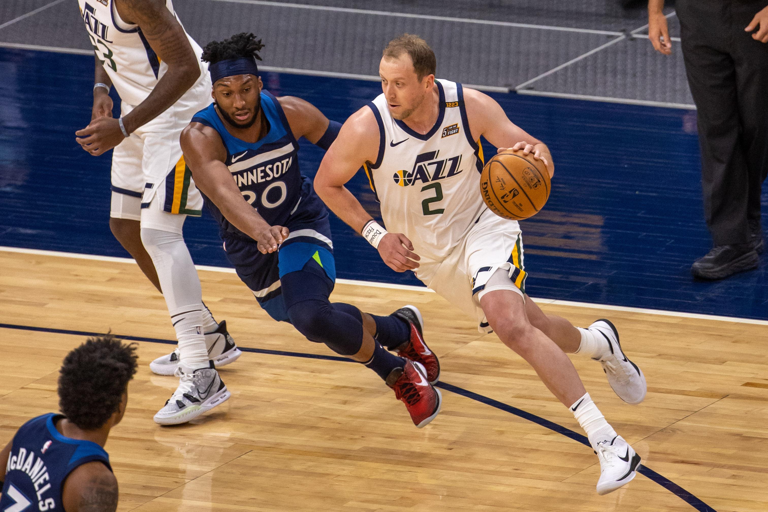 NBA: Utah Jazz at Minnesota Timberwolves