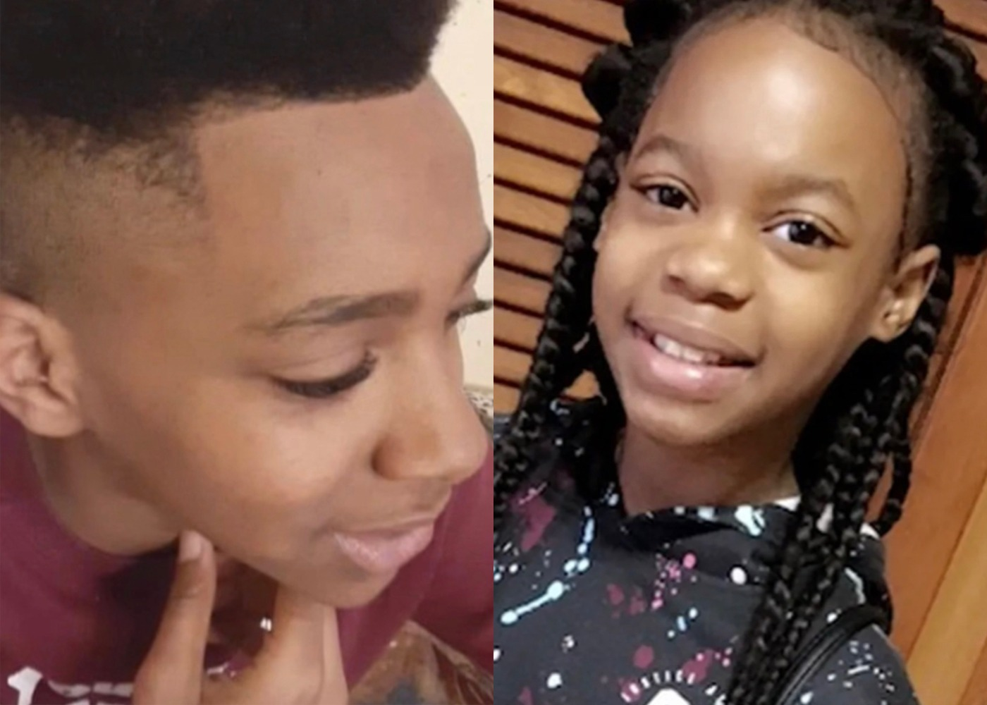 Swaysee Rankin (left) was critically wounded in a shooting Monday, six months after he helped save the life of his close friend La'Mya Sparks (right) in another shooting.