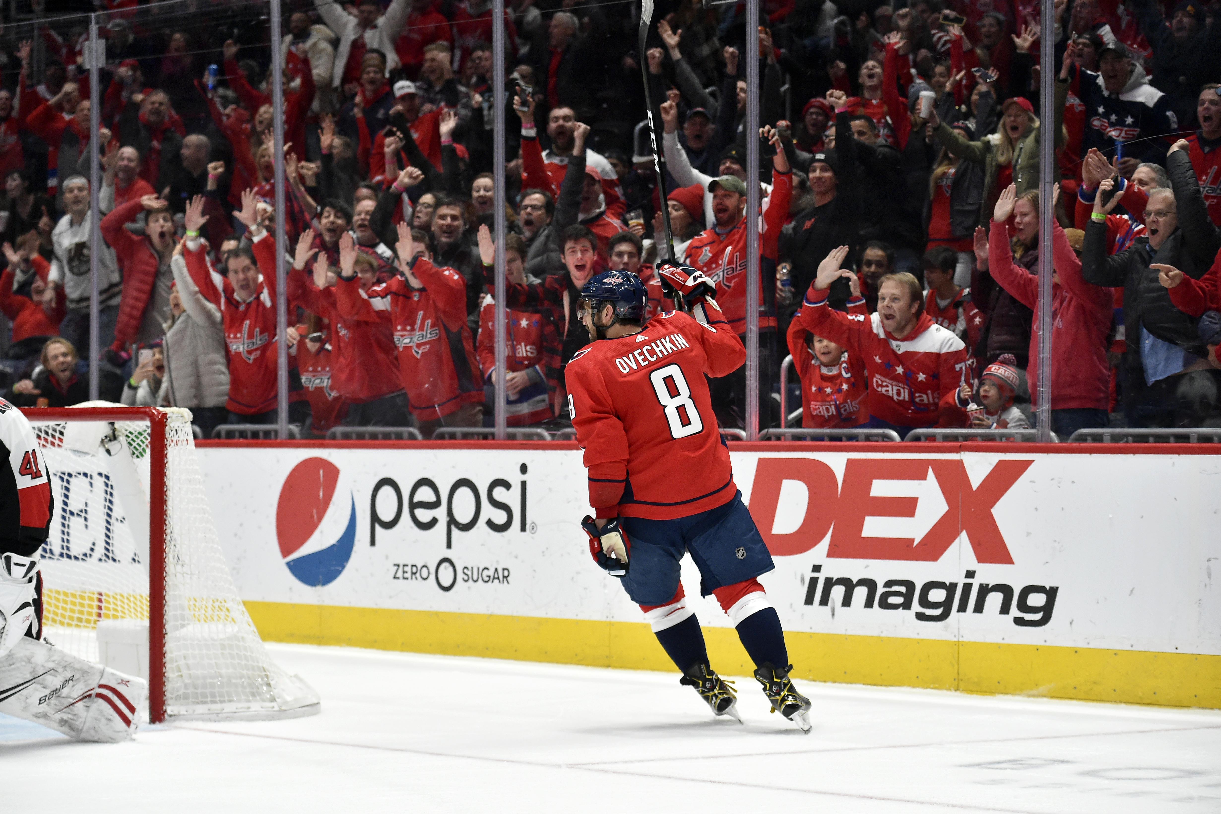 NHL: JAN 07 Senators at Capitals