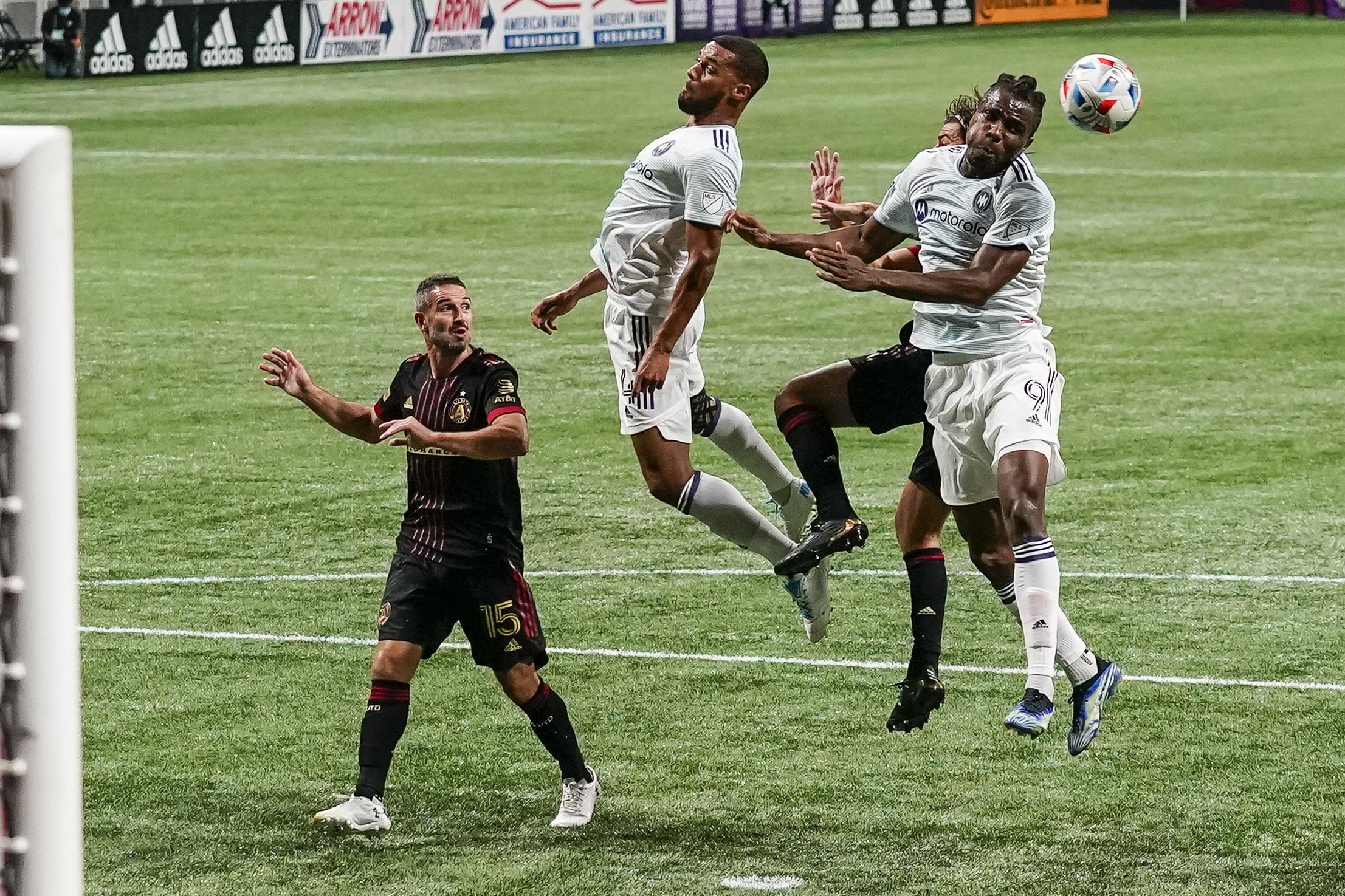 MLS: Chicago Fire at Atlanta United FC