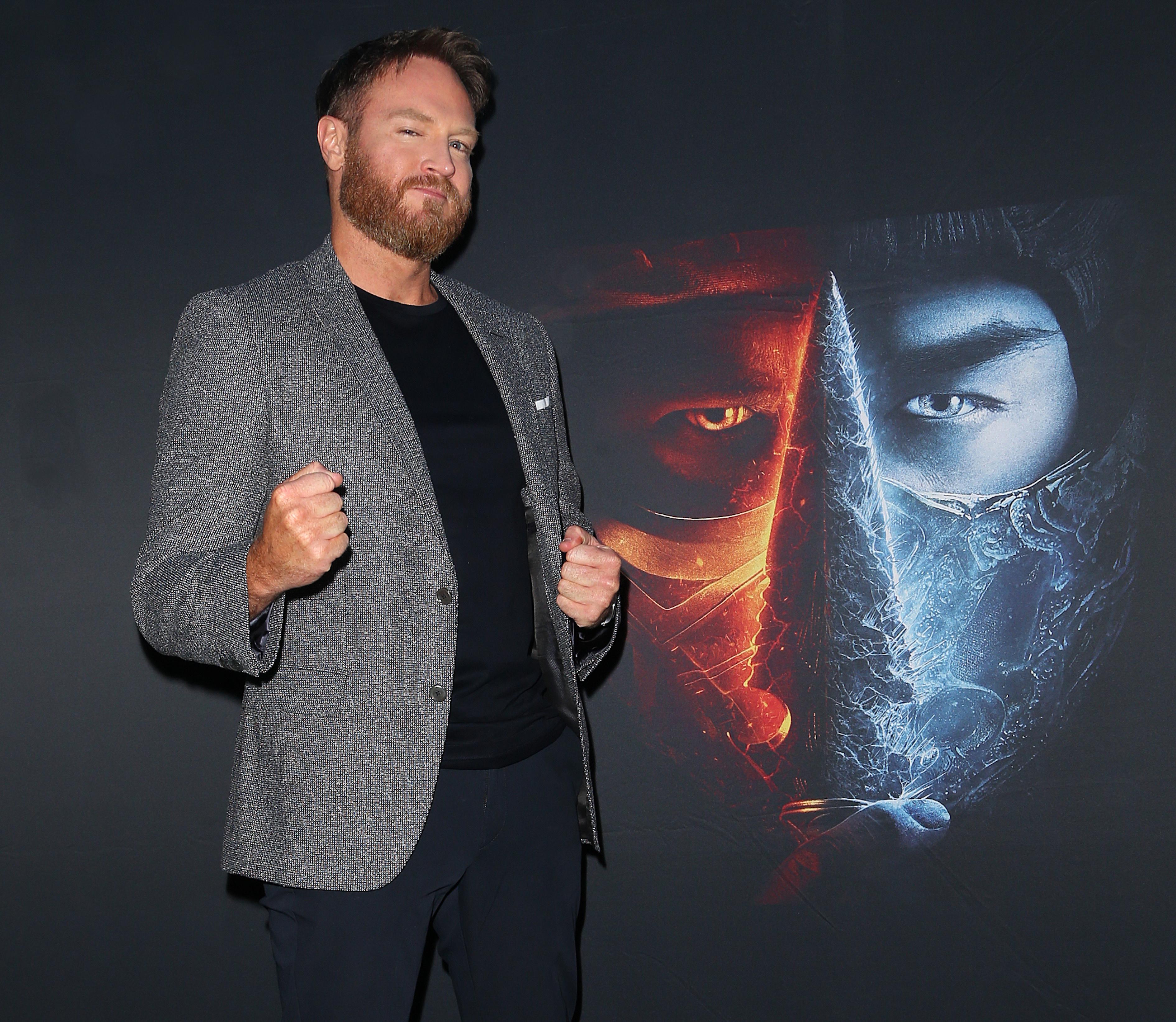 2021年4月21日在珀斯举行的《凡人快打》首映式