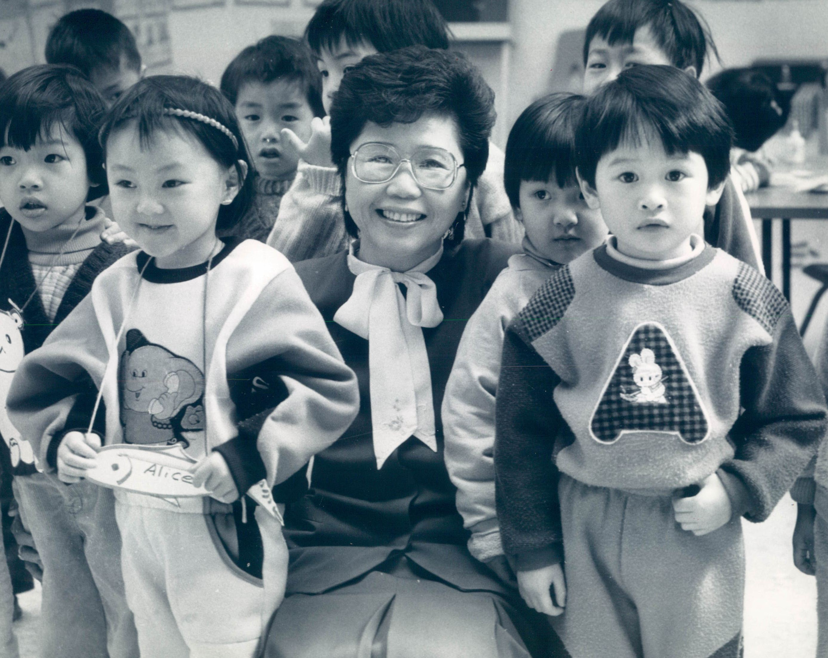 """Bernarda """"Bernie"""" Wong, shown here in 1988, was the founder and longtime president of the Chinese American Service League."""