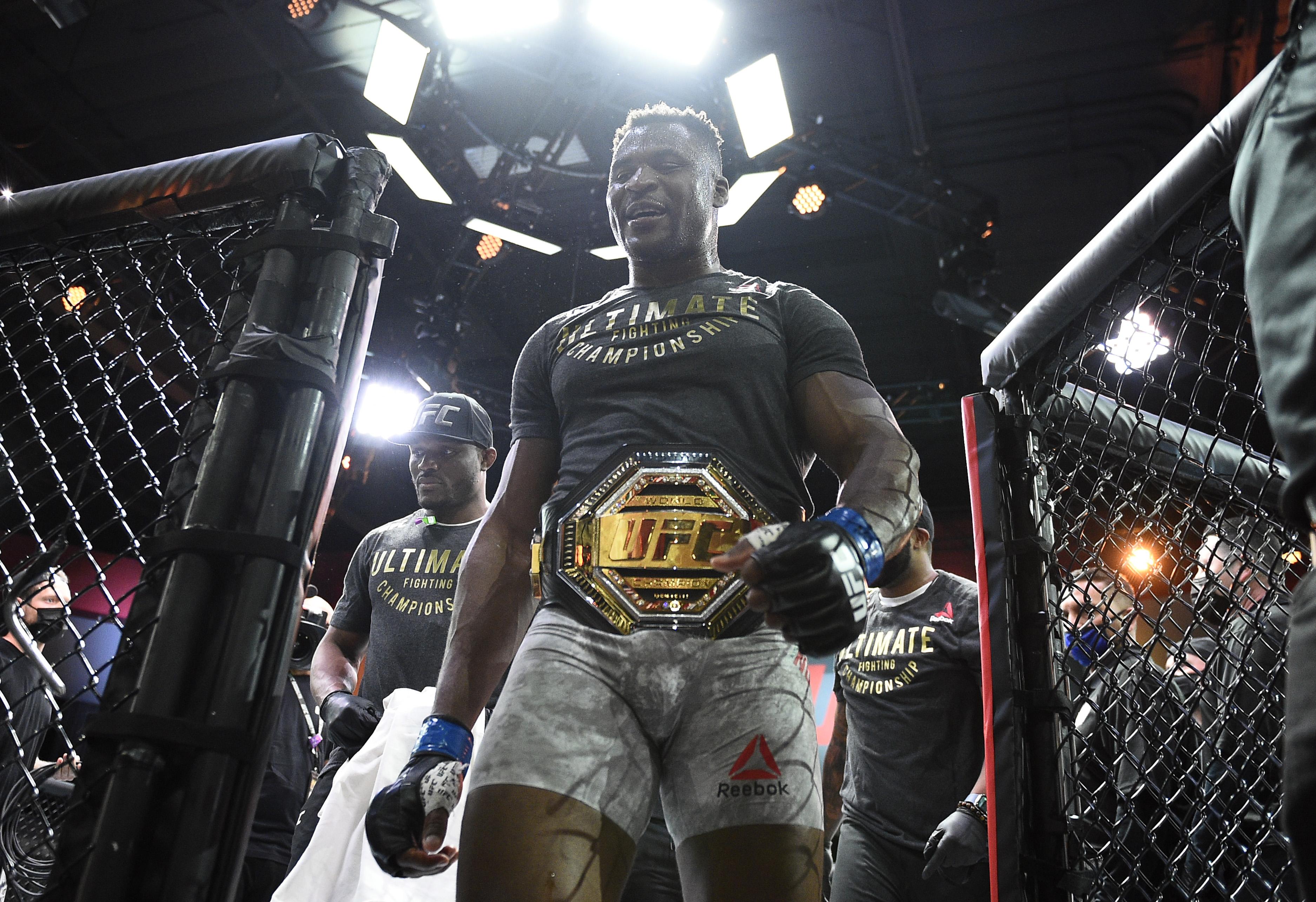 UFC 260: mioccic vs Ngannou 2