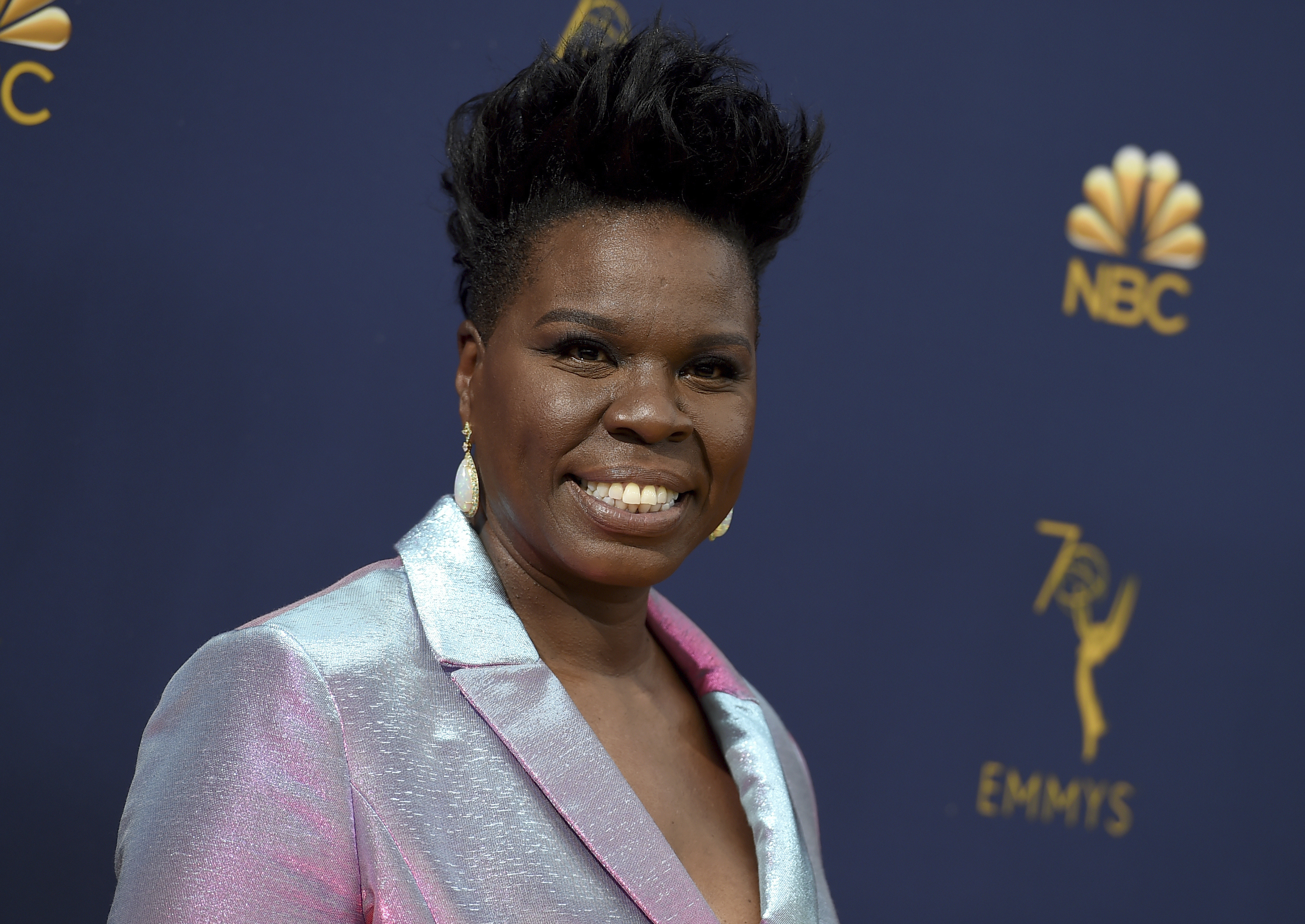Leslie Jones at the 70th Primetime Emmy Awards in Los Angeles in 2018.