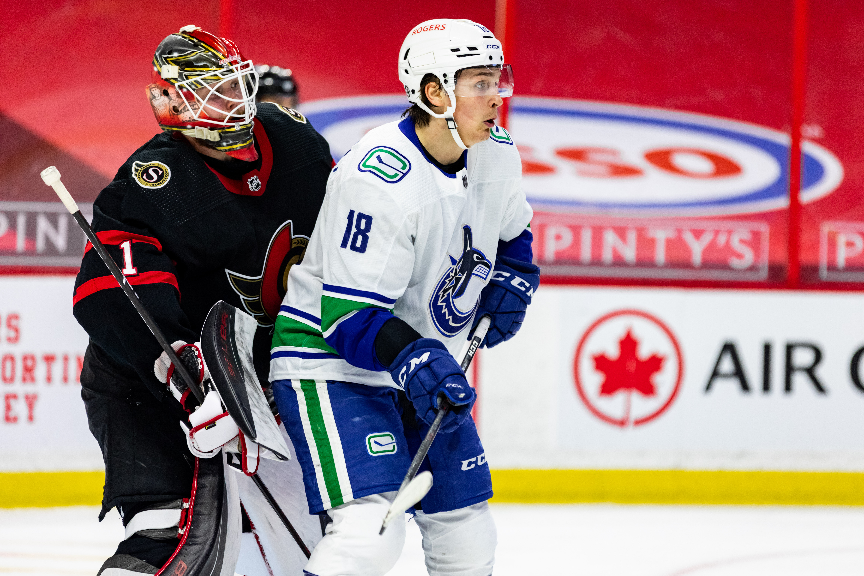 NHL: APR 26 Canucks at Senators
