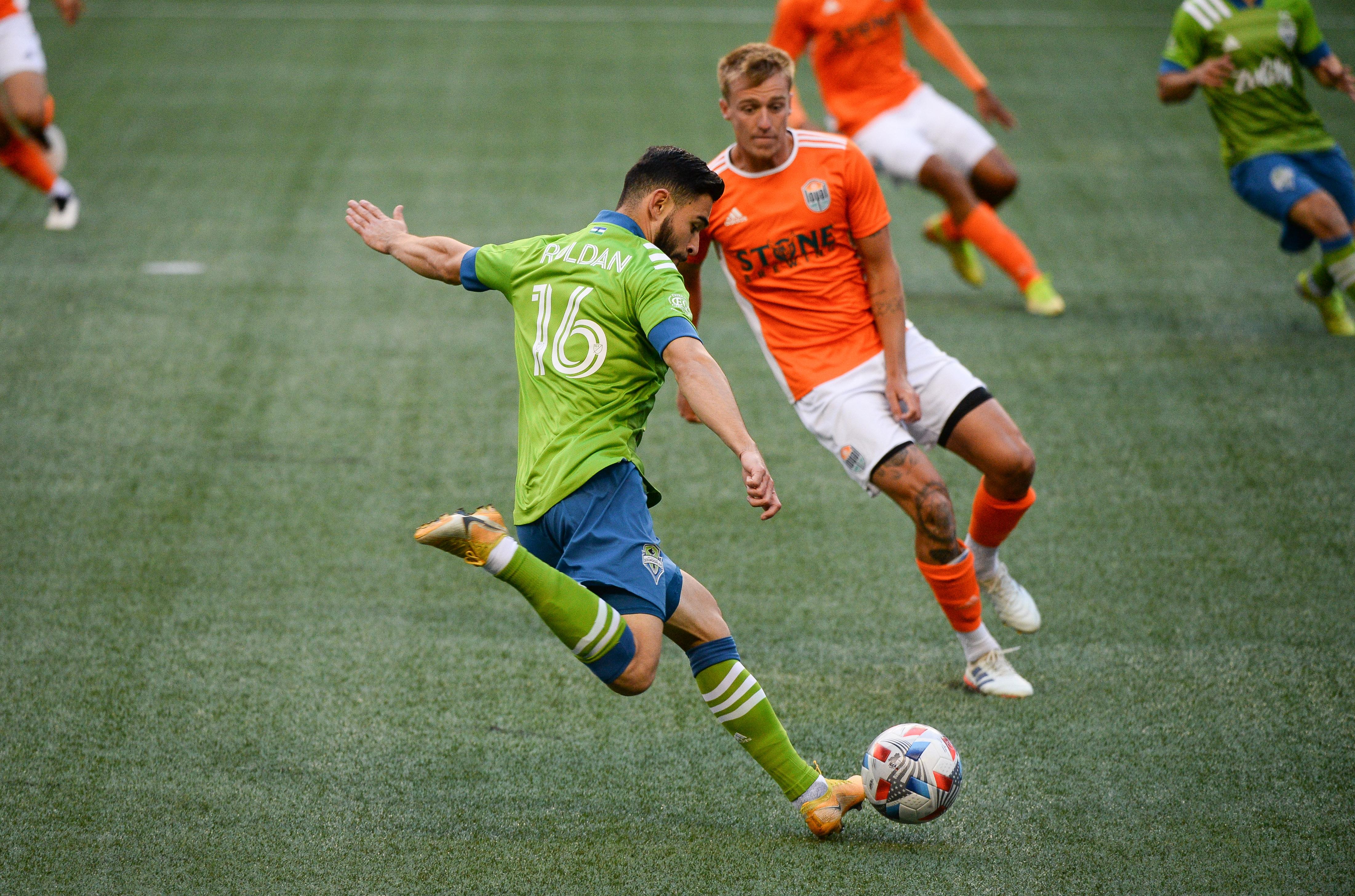 SOCCER: APR 10 MLS - San Diego Loyal SC at Seattle Sounders FC