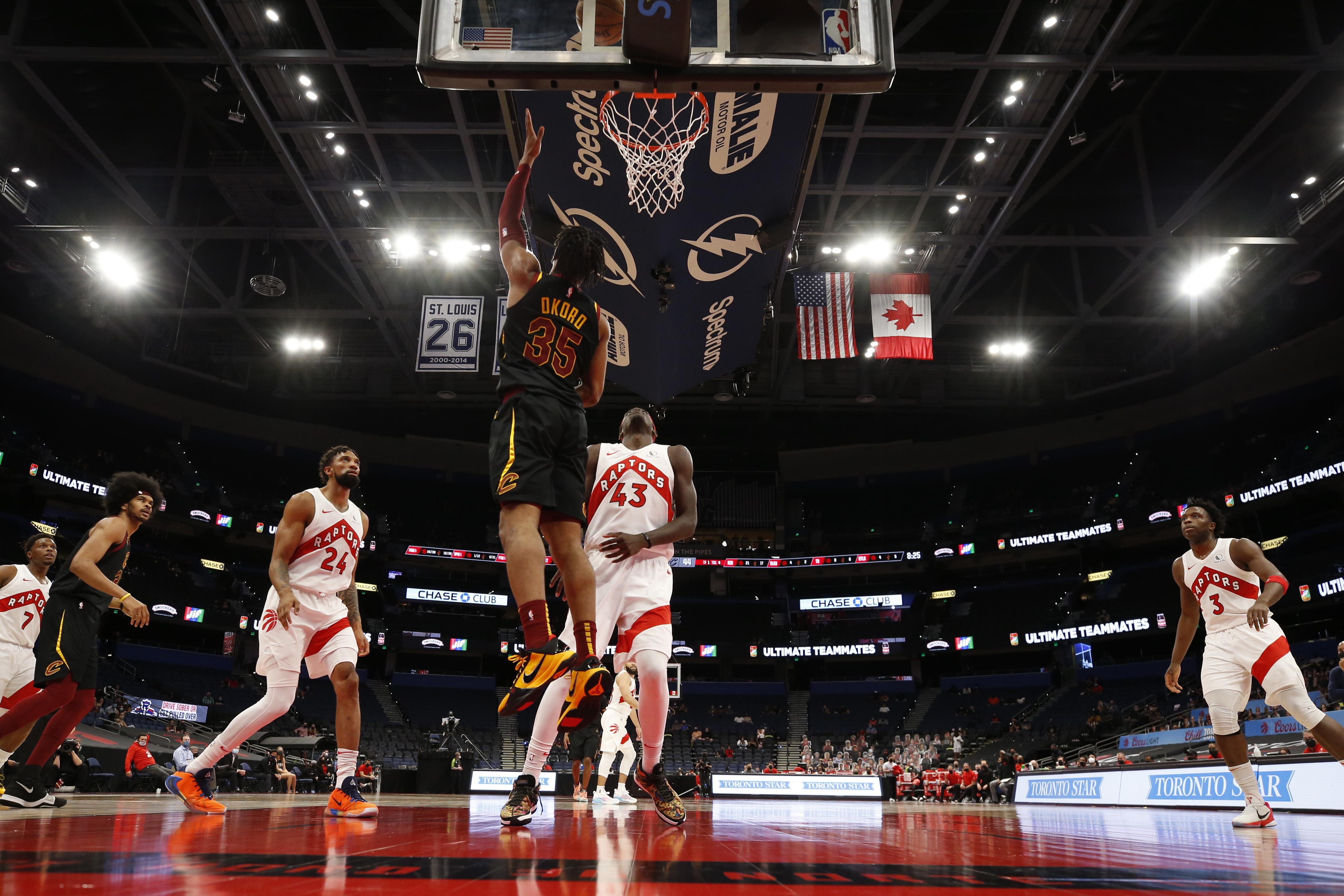 Cleveland Cavaliers v Toronto Raptors