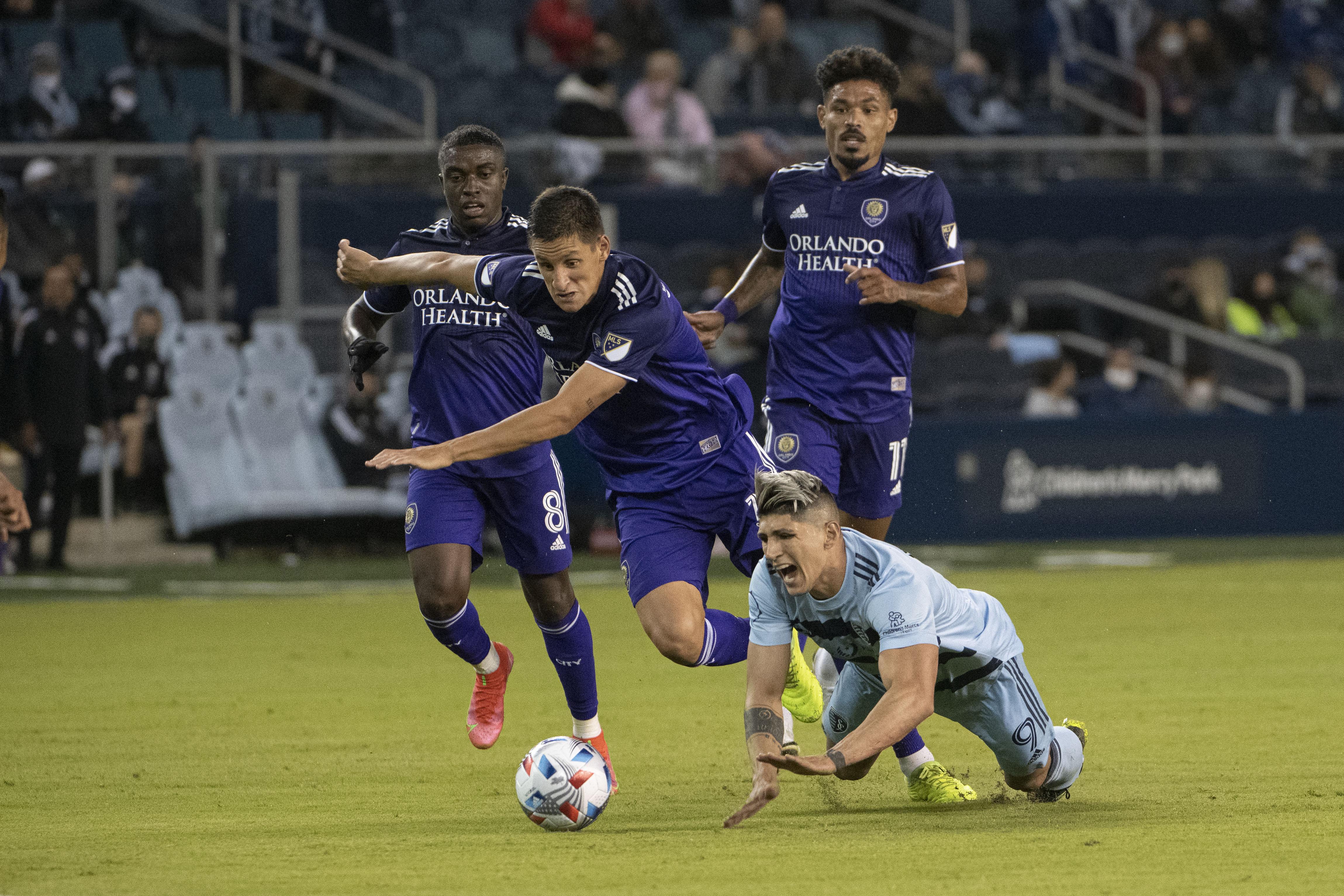 MLS: Orlando City SC at Sporting Kansas City