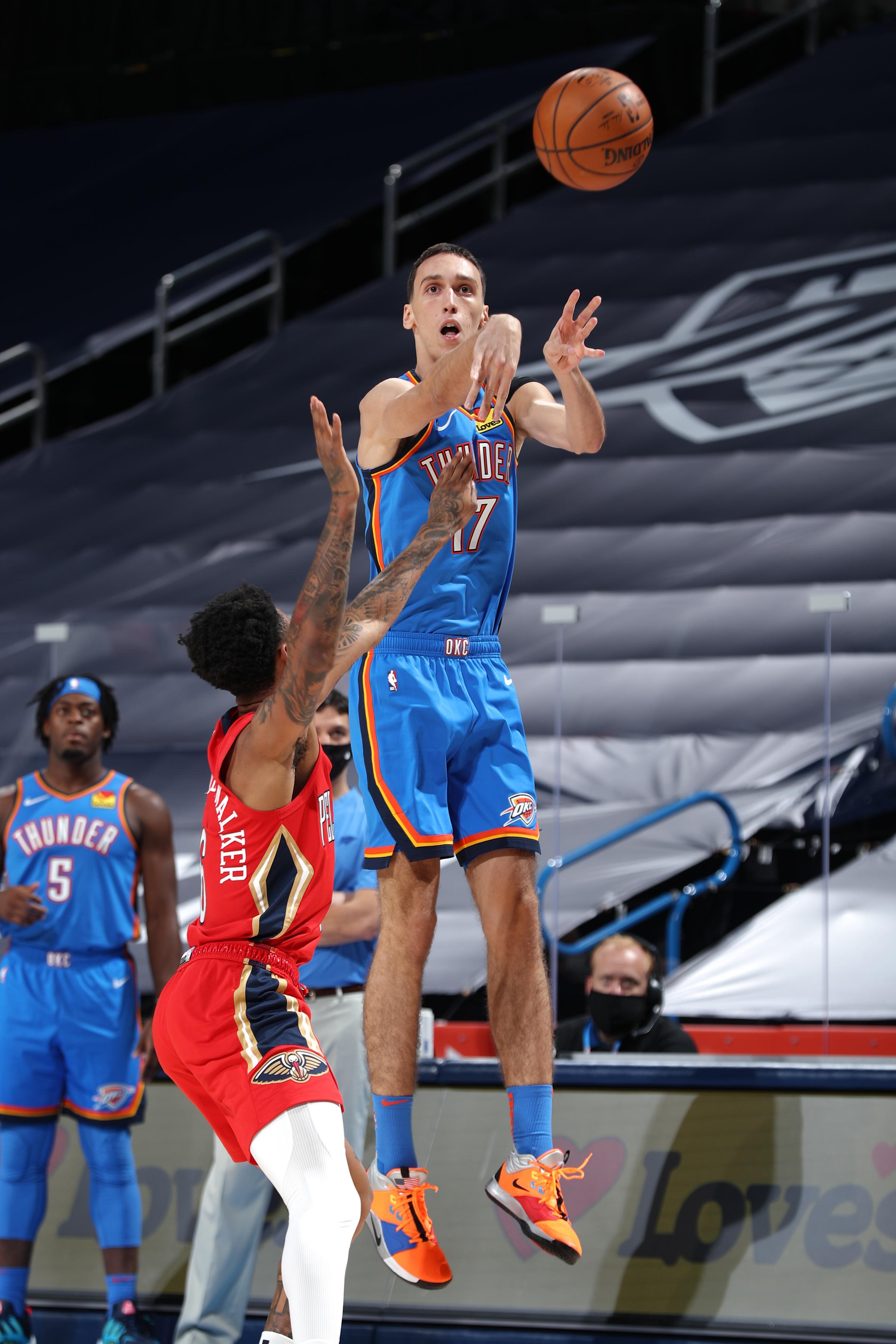 New Orleans Pelicans v Oklahoma City Thunder