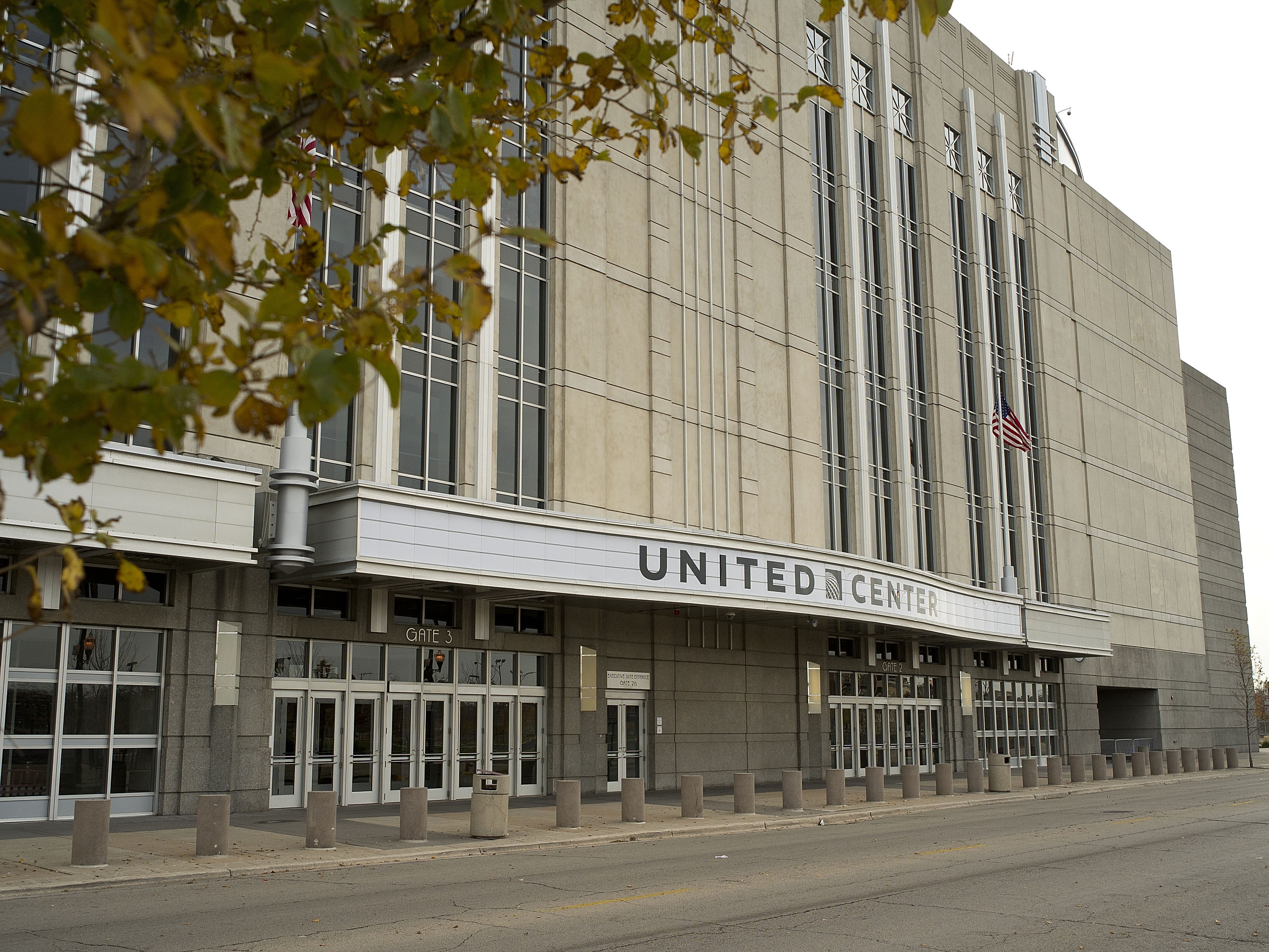 The United Center.