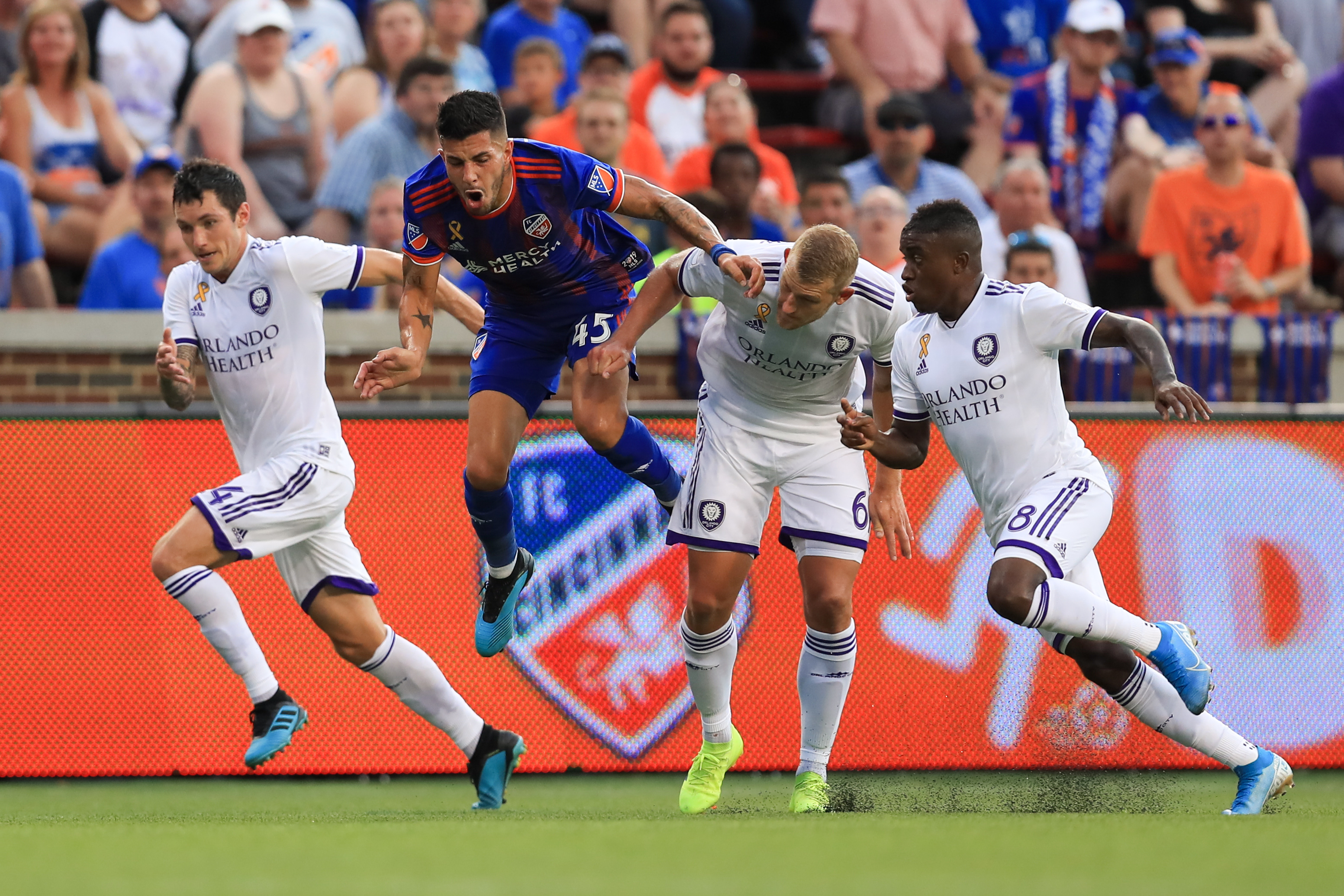 MLS: Orlando City SC at FC Cincinnati
