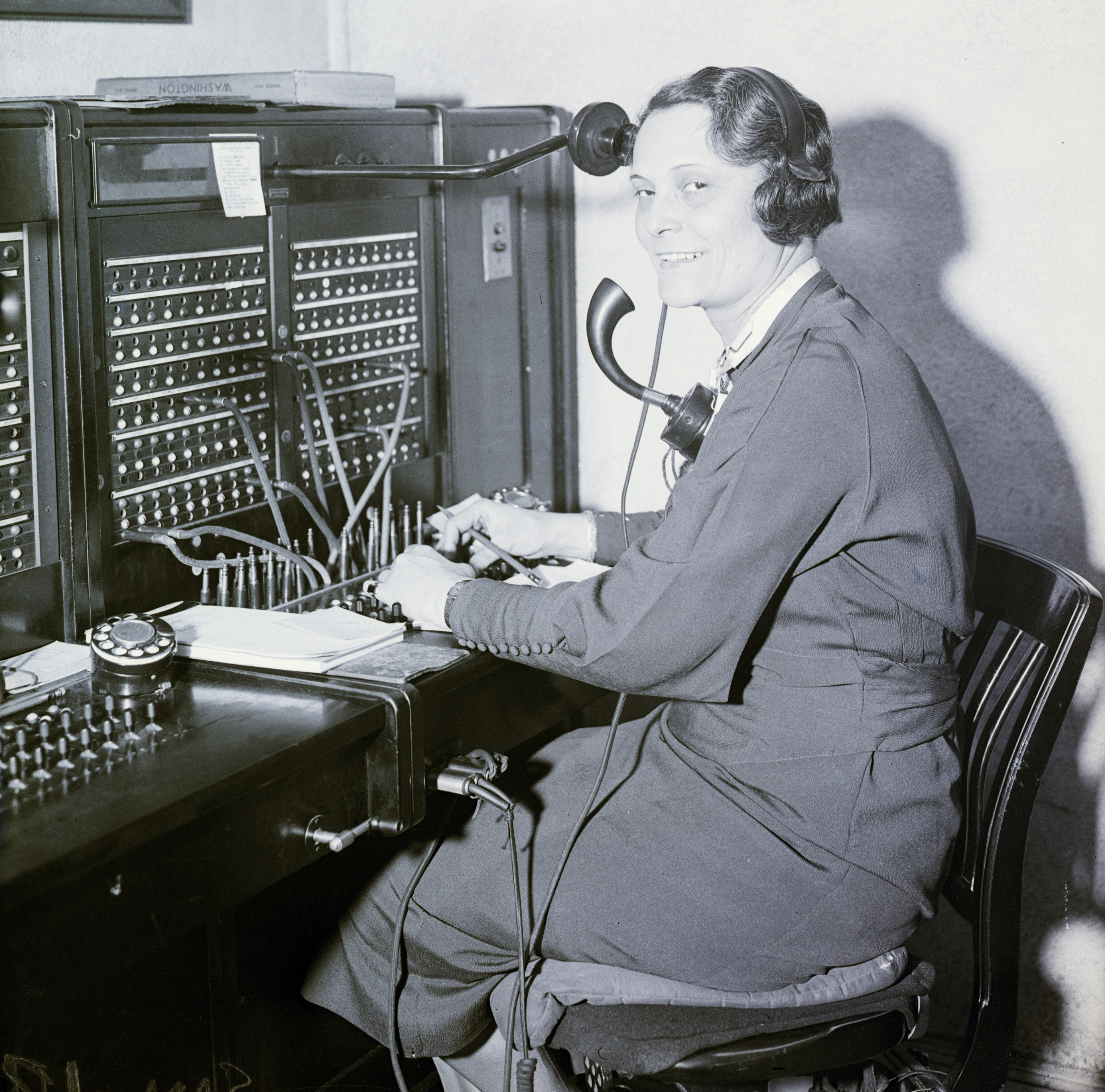 White House Operator On Switchboard
