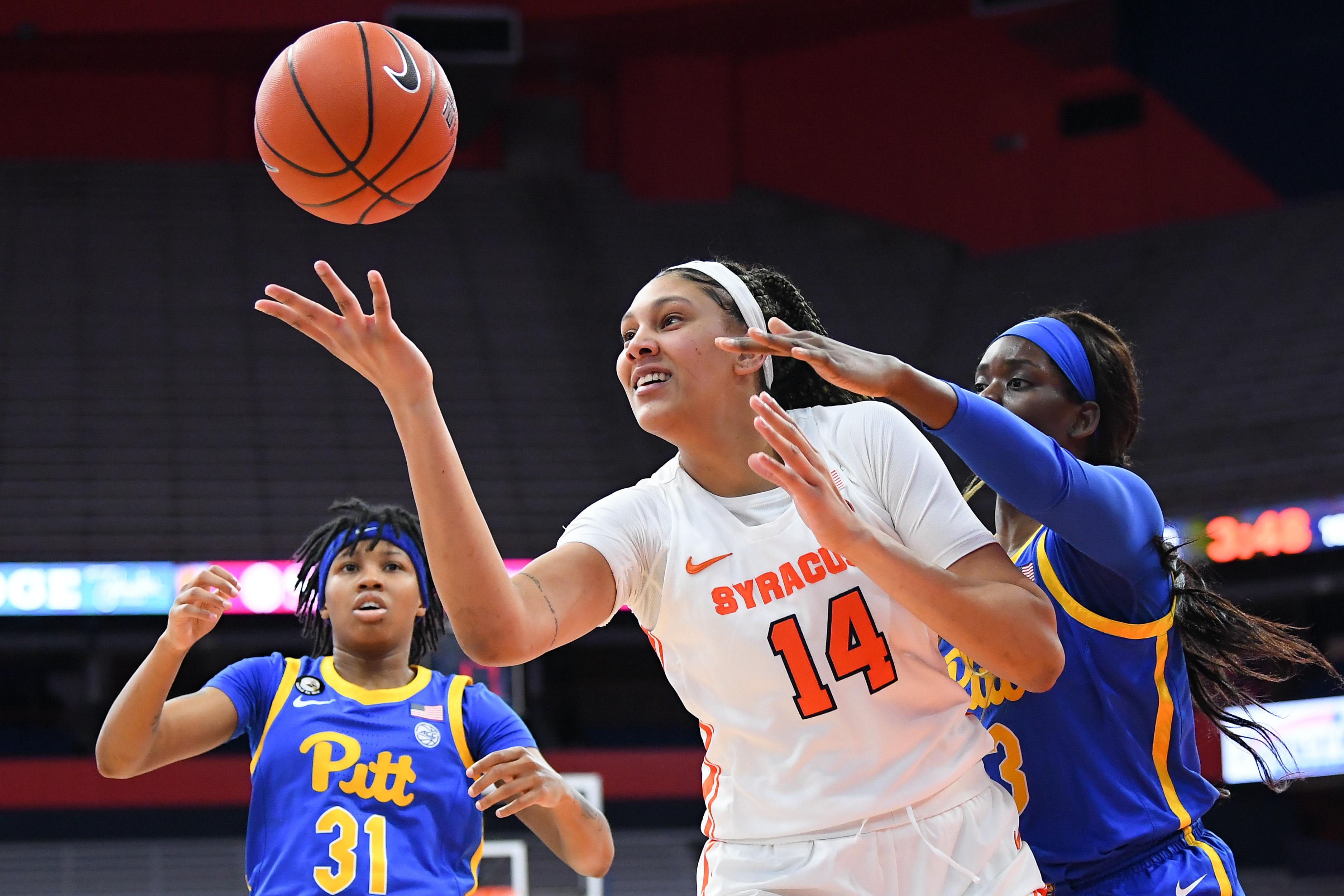 NCAA Womens Basketball: Pittsburgh at Syracuse