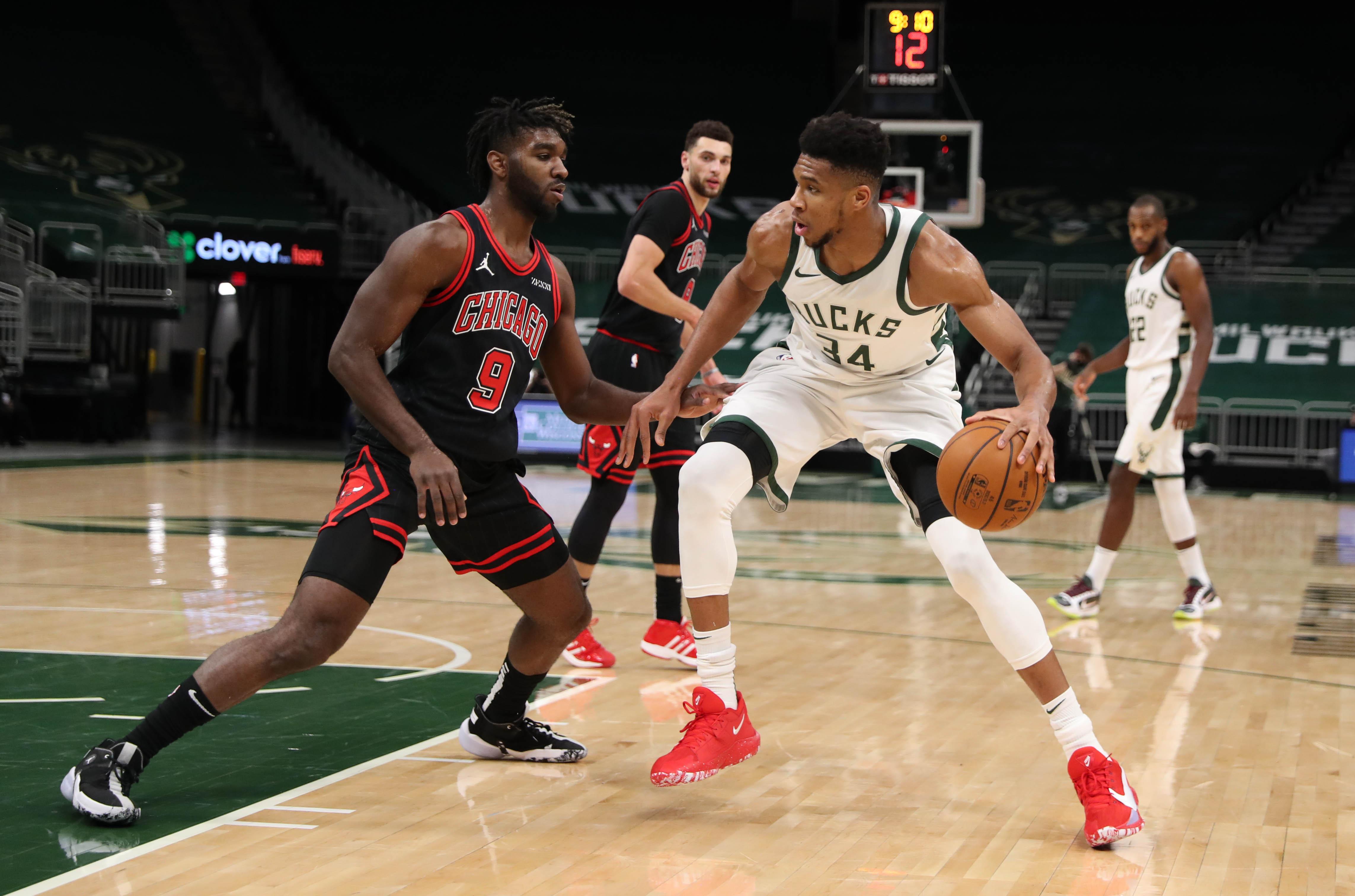 NBA: Chicago Bulls at Milwaukee Bucks
