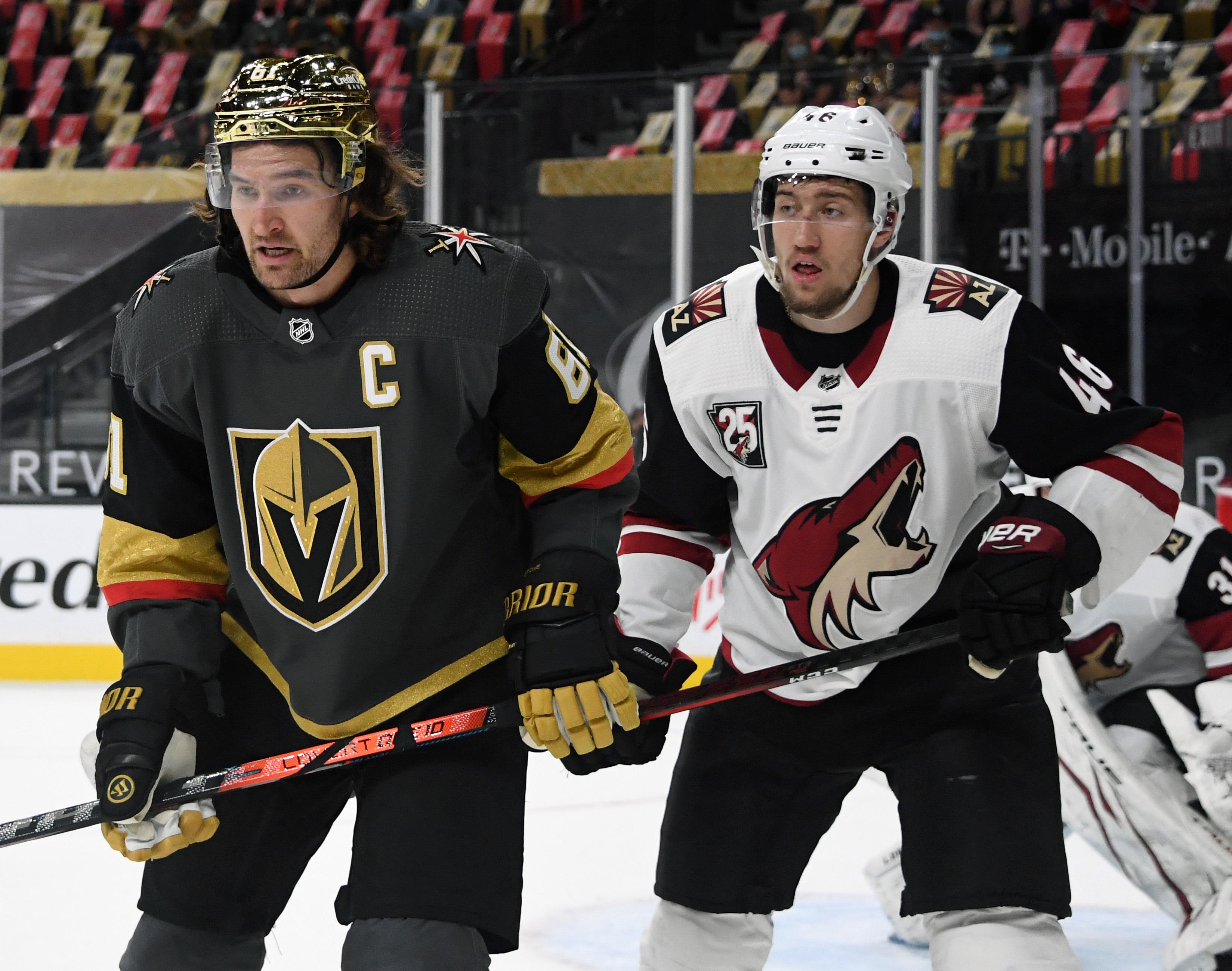 Arizona Coyotes v Vegas Golden Knights