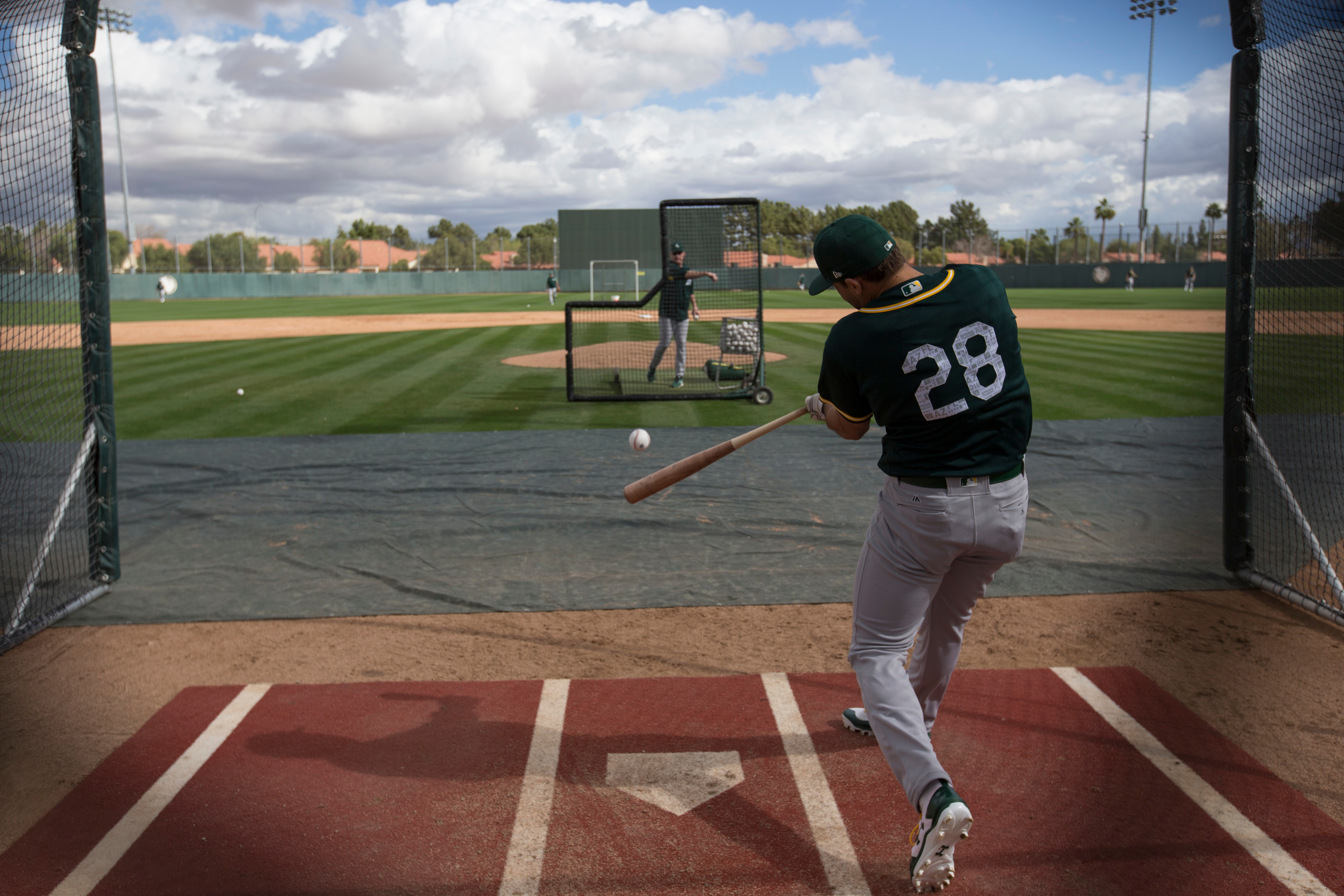 Oakland Athletics Workout
