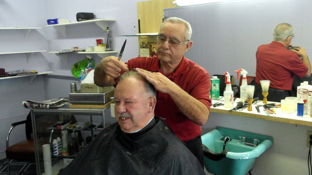 For Mark Brown's money, the hardest service provider to replace is a good barber.