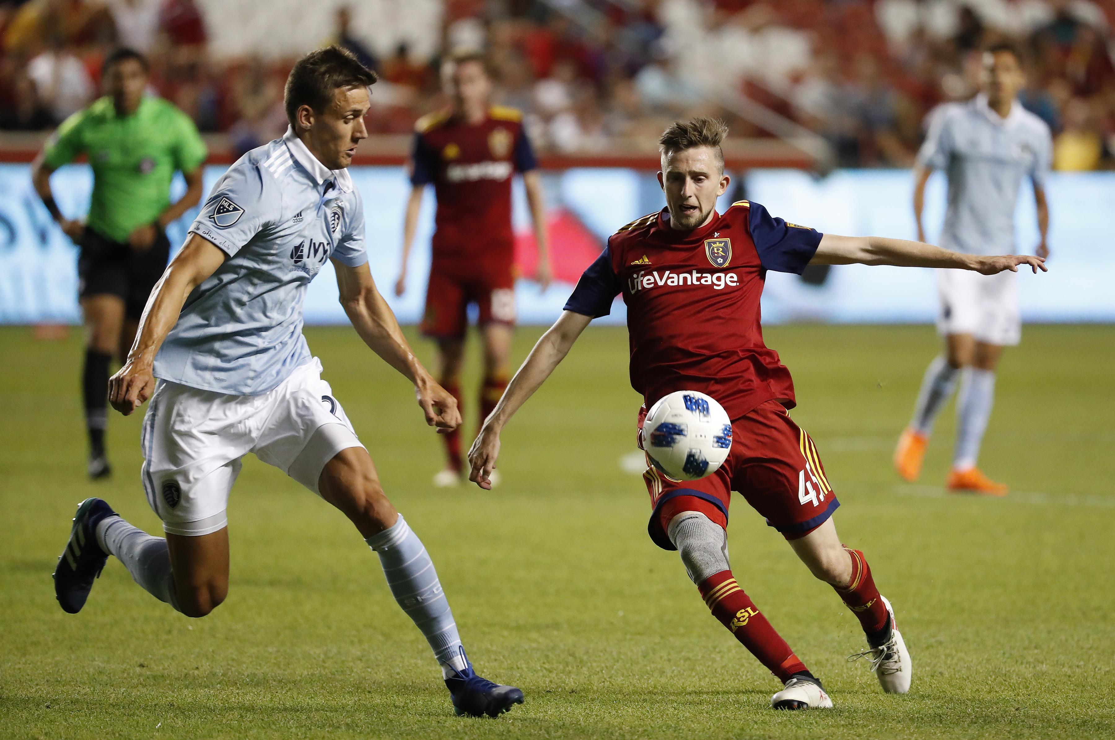 MLS: U.S. Open Cup-Real Salt Lake vs Sporting KC