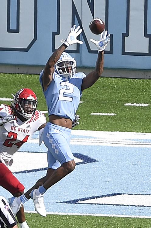 NCAA Football: North Carolina State at North Carolina