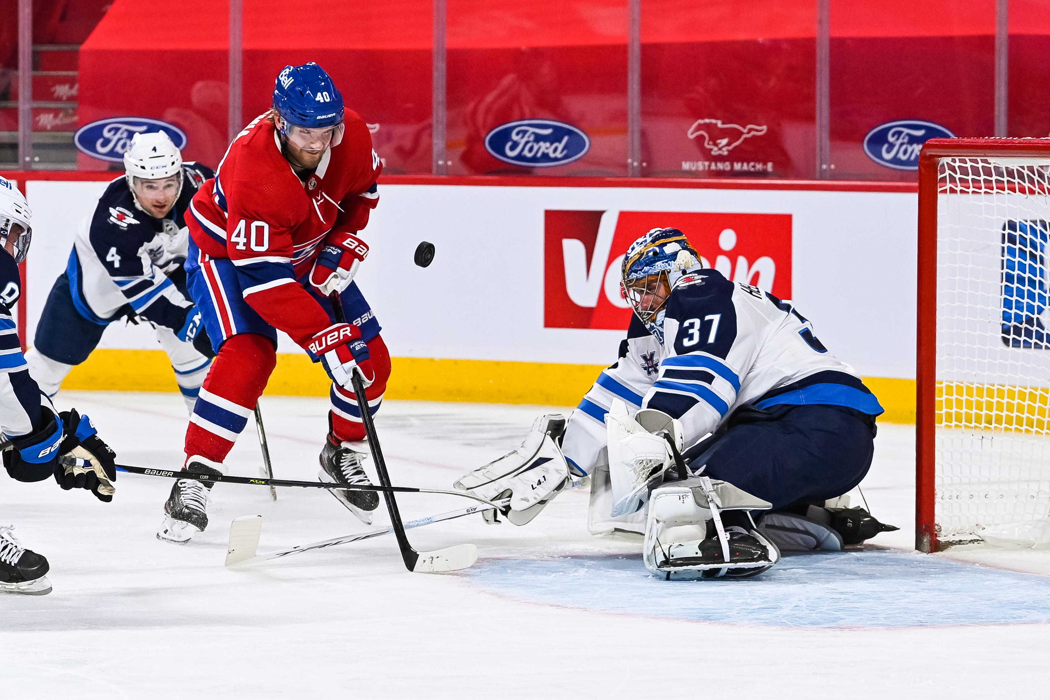 NHL: APR 30 Jets at Canadiens