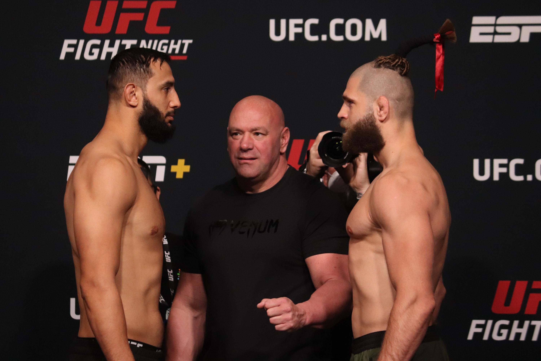 2021年4月30日,在内华达州拉斯维加斯举行的UFC终极格斗冠军赛(UFC Apex)上,捷克的对手多米尼克·雷耶斯(Dominick Reyes)和吉里·普罗查兹卡(Jiri Prochazka)将在UFC格斗之夜进行对决。