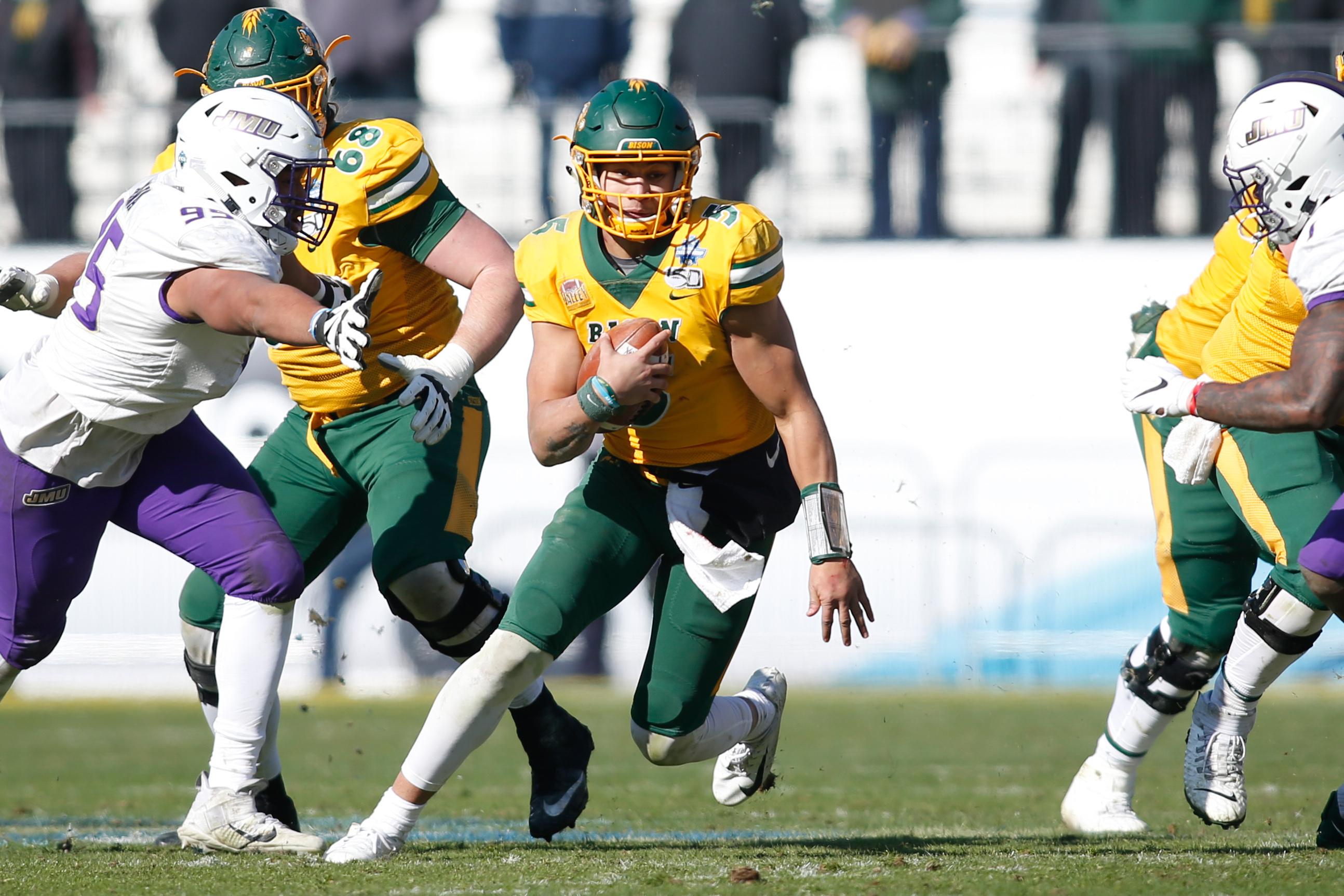 NCAA Football: FCS Championship Game-North Dakota State vs James Madison
