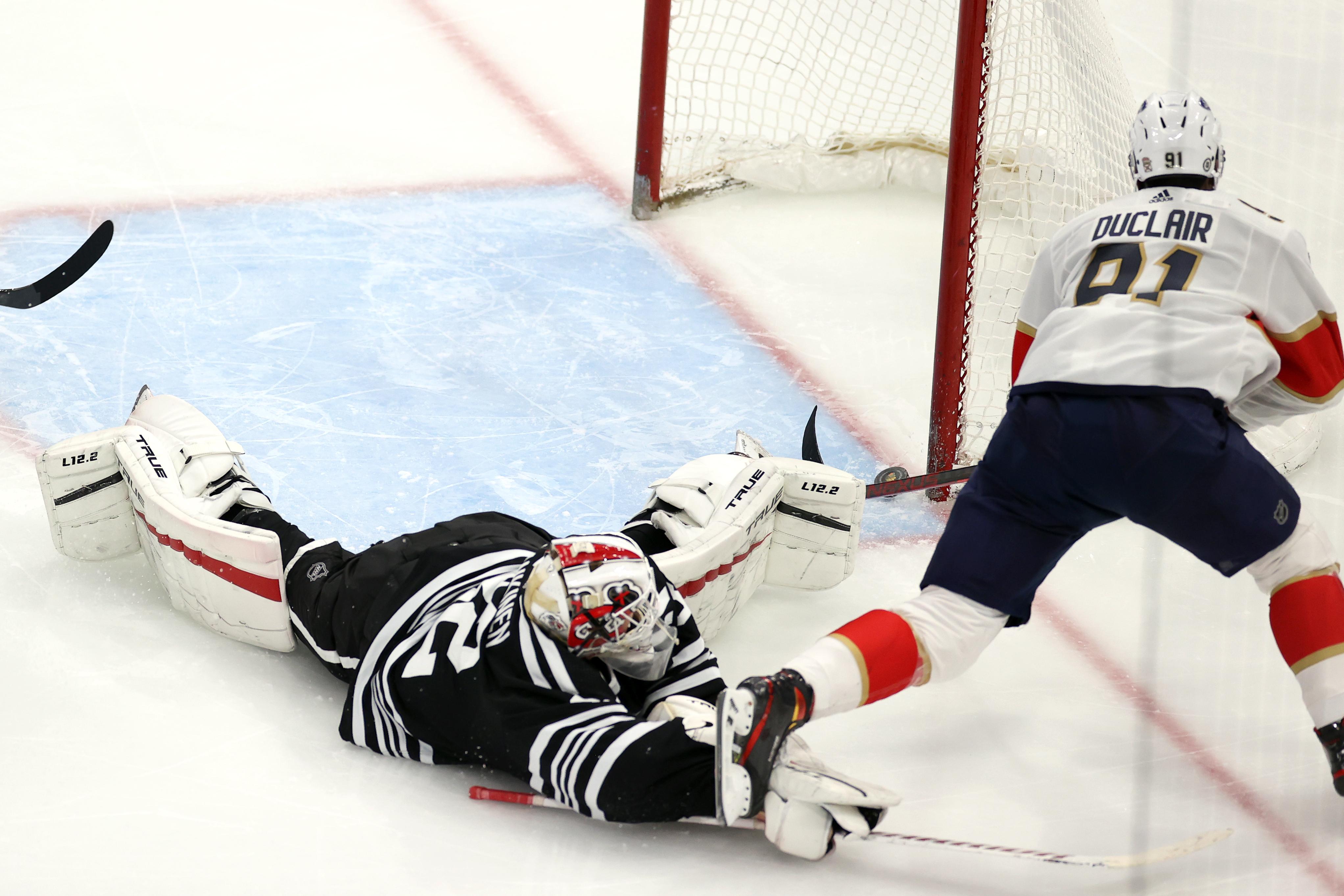 NHL: MAY 01 Panthers at Blackhawks