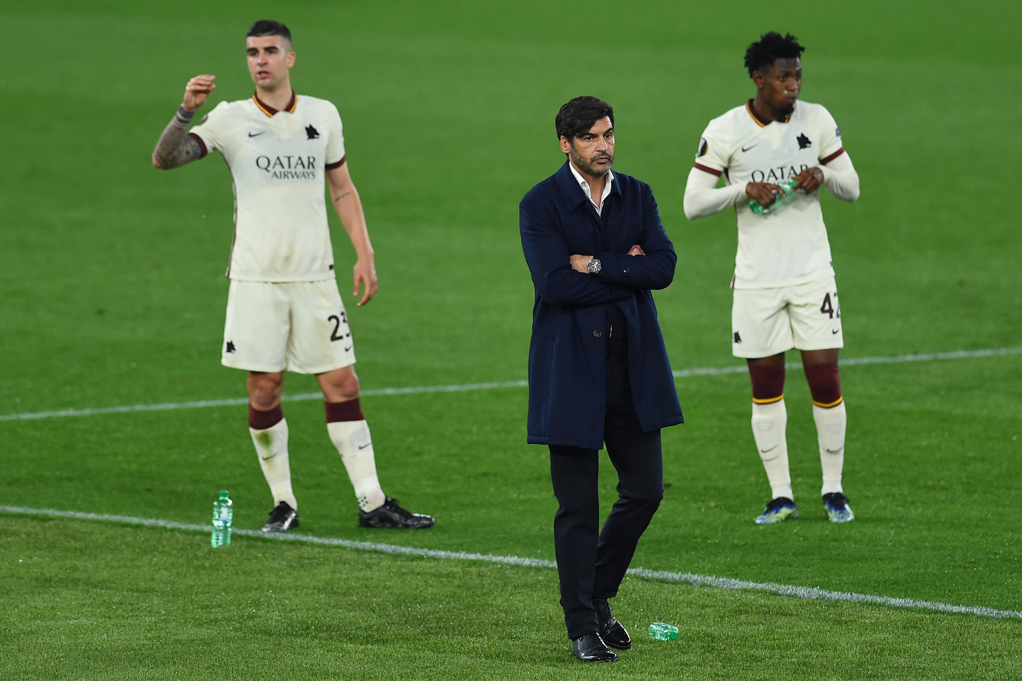 Football Europa League AS Roma vs Ajax