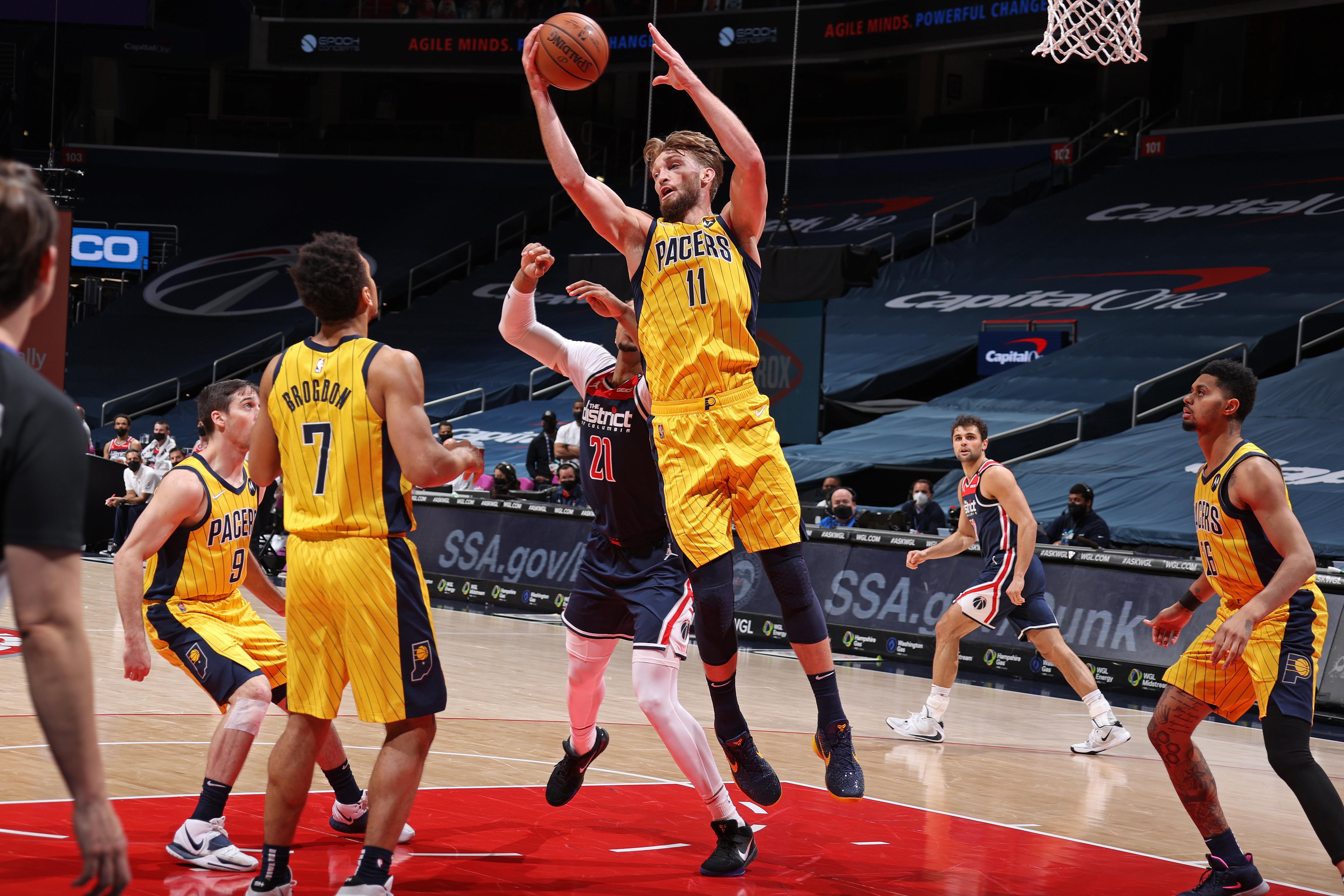 Indiana Pacers vs. Washington Wizards