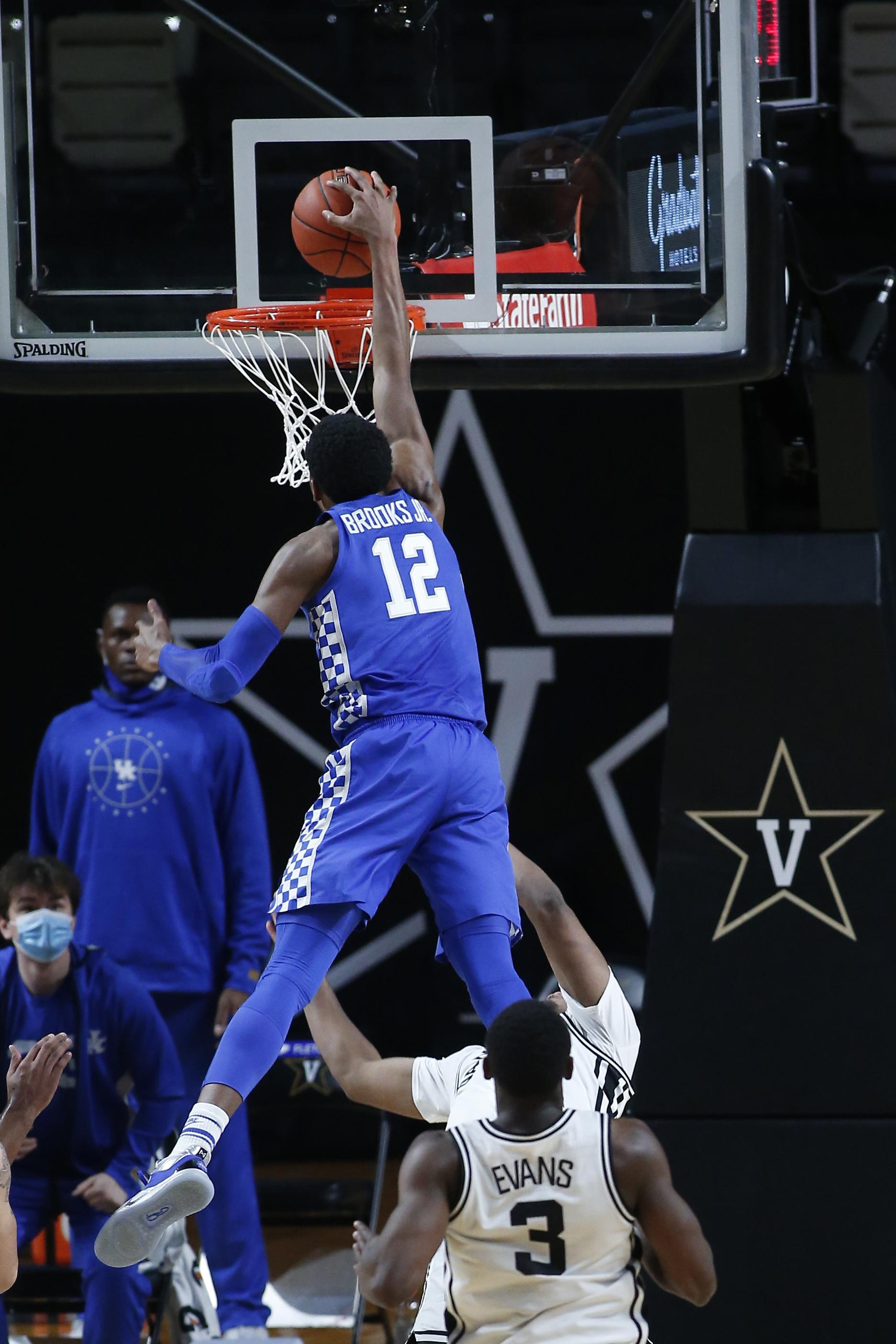 COLLEGE BASKETBALL: FEB 17 Kentucky at Vanderbilt