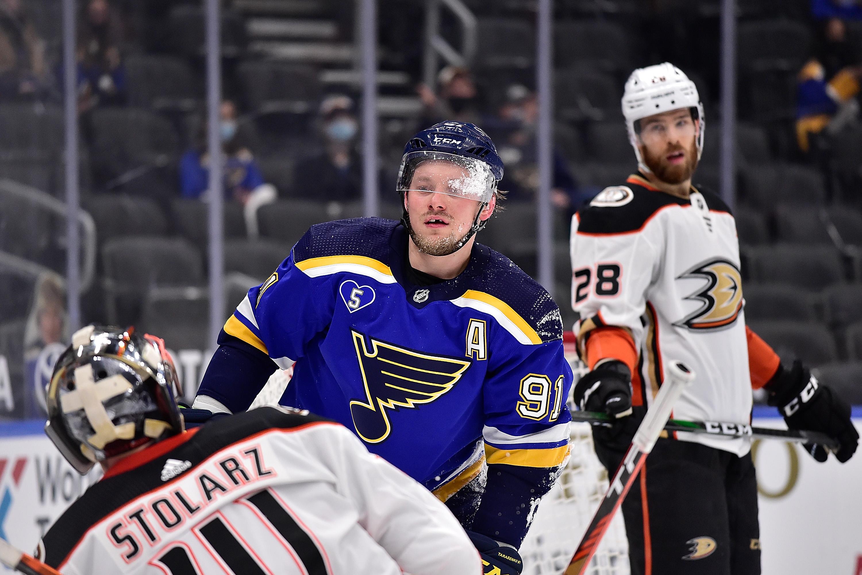 NHL: Anaheim Ducks at St. Louis Blues