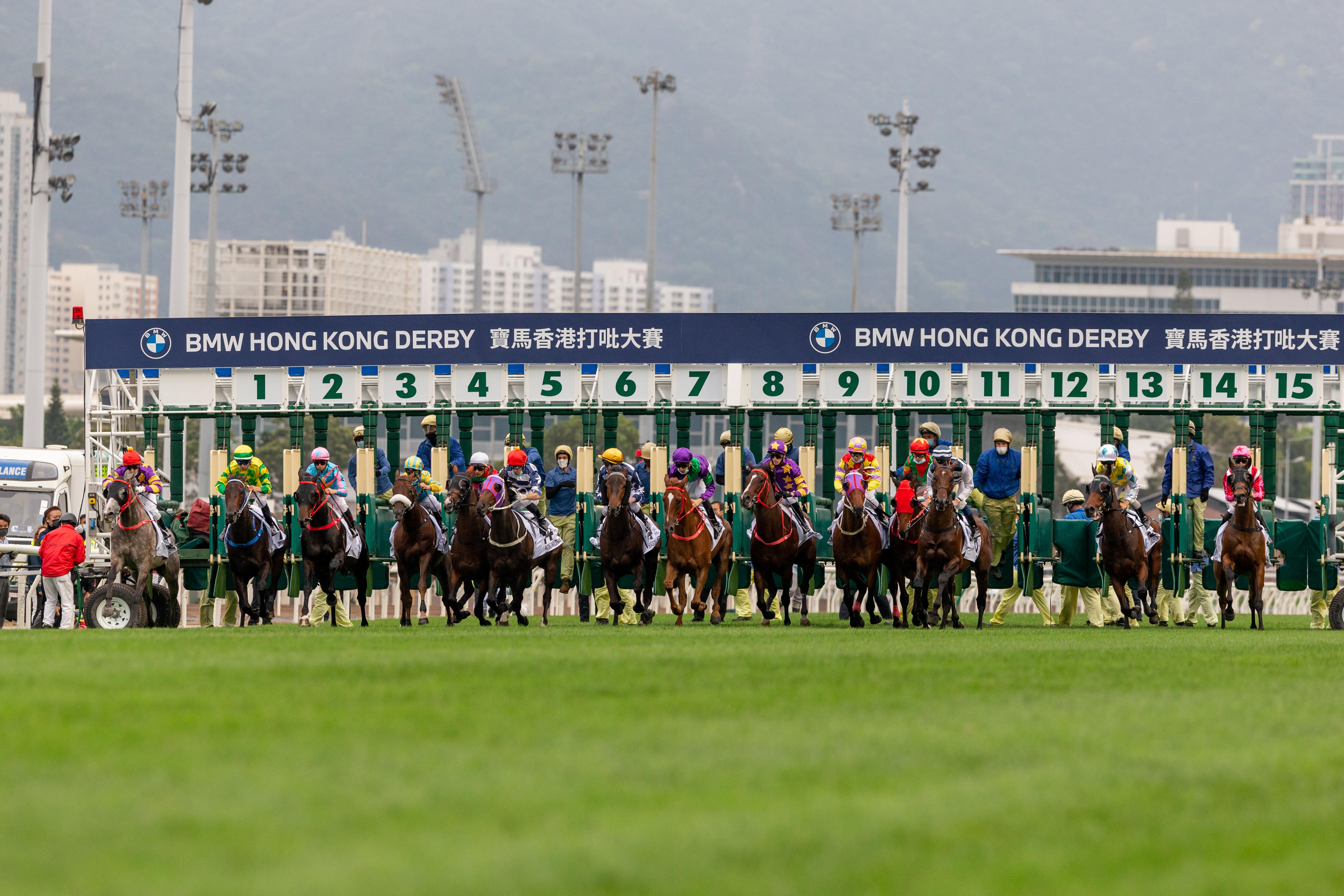 BMW Hong Kong Derby 2021