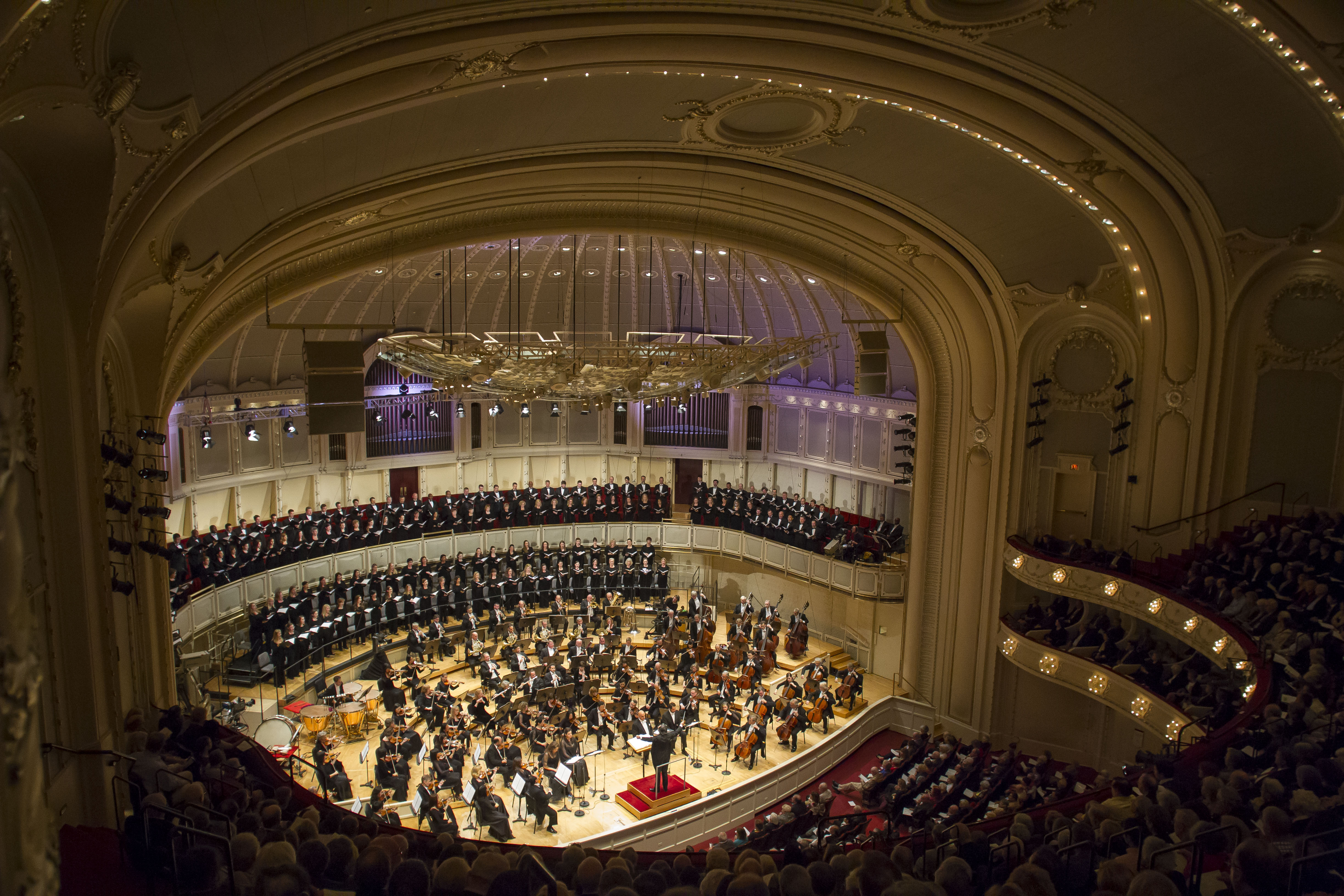 The Chicago Symphony Orchestra and audiences will be returning to Orchestra Hall later this month.