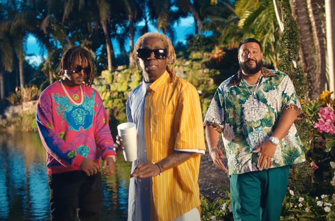 DJ Khaled, Lil Wayne, and Jeremih