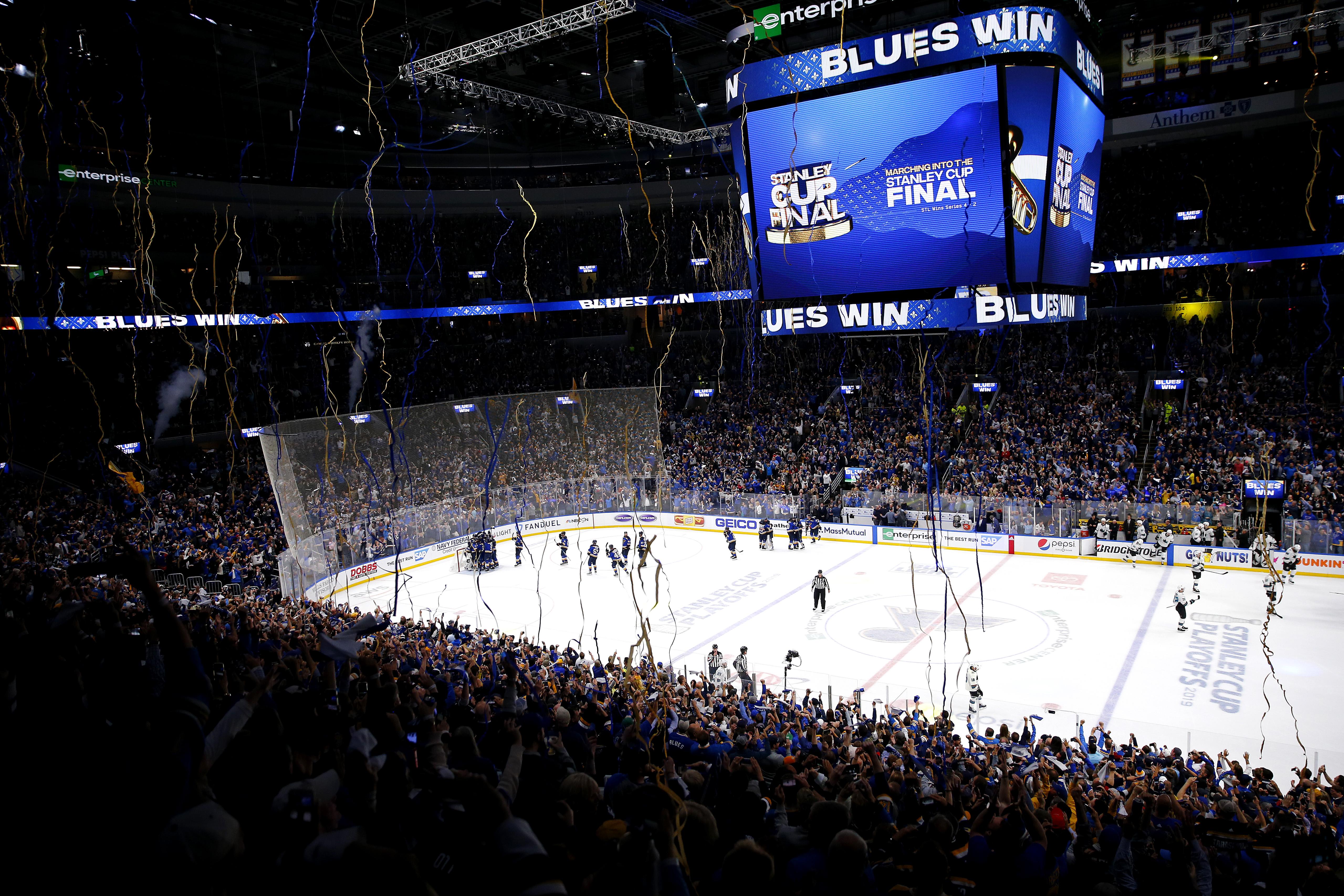 San Jose Sharks v St Louis Blues - Game Six
