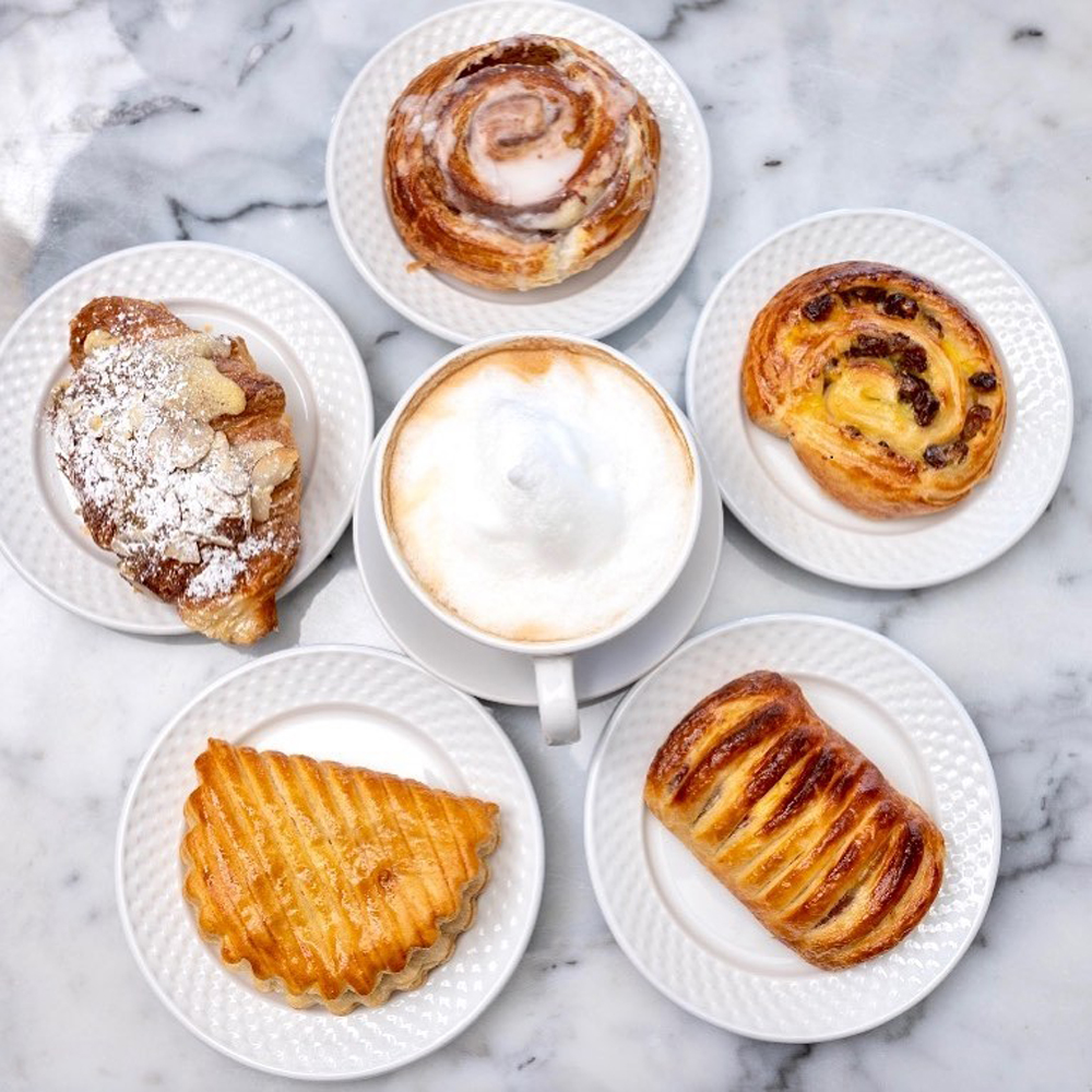 French pastries on Le Cafe Du Lac's menu, expanding this year to Southern Highlands.