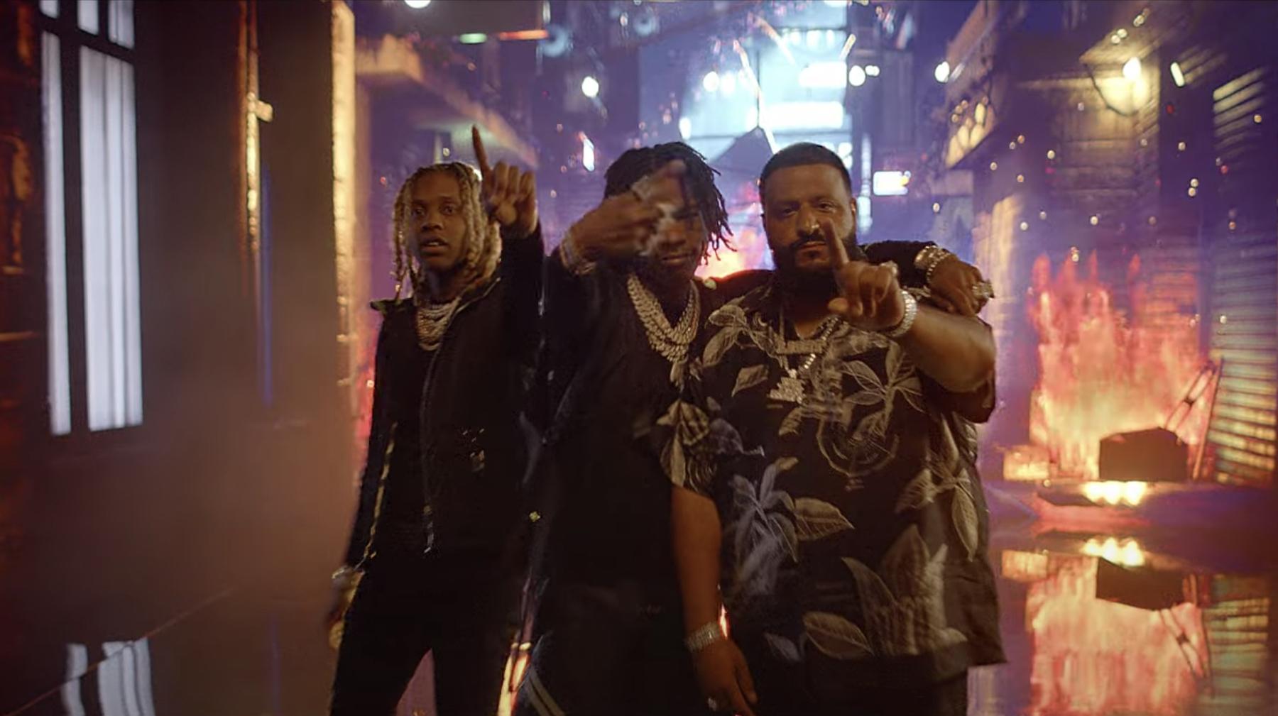 Lil Durk, Lil Baby, and DJ Khaled