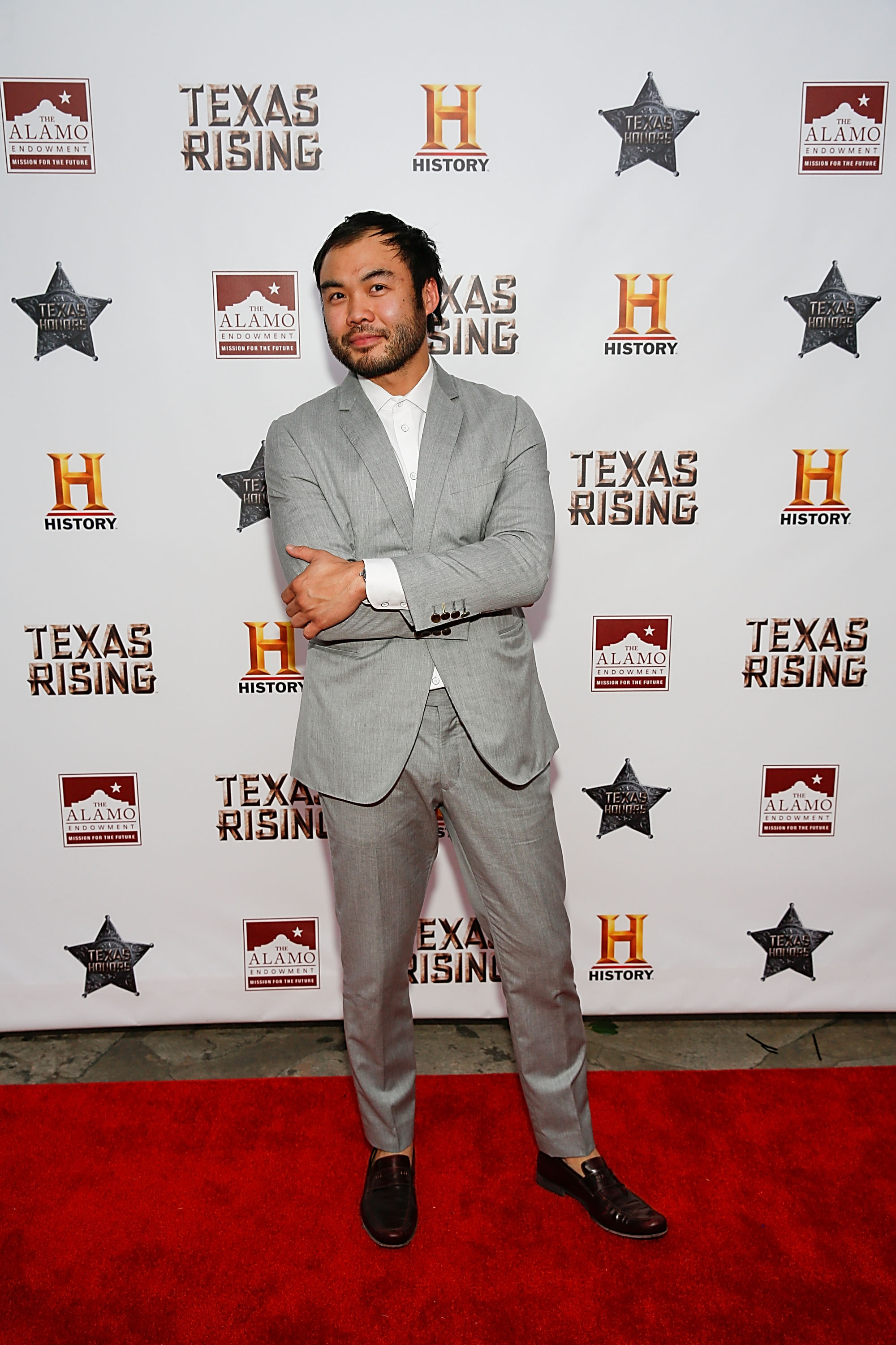 HISTORY Celebrates Epic New Miniseries 'Texas Rising' With Red Carpet 'Texas Honors' Event At The Alamo