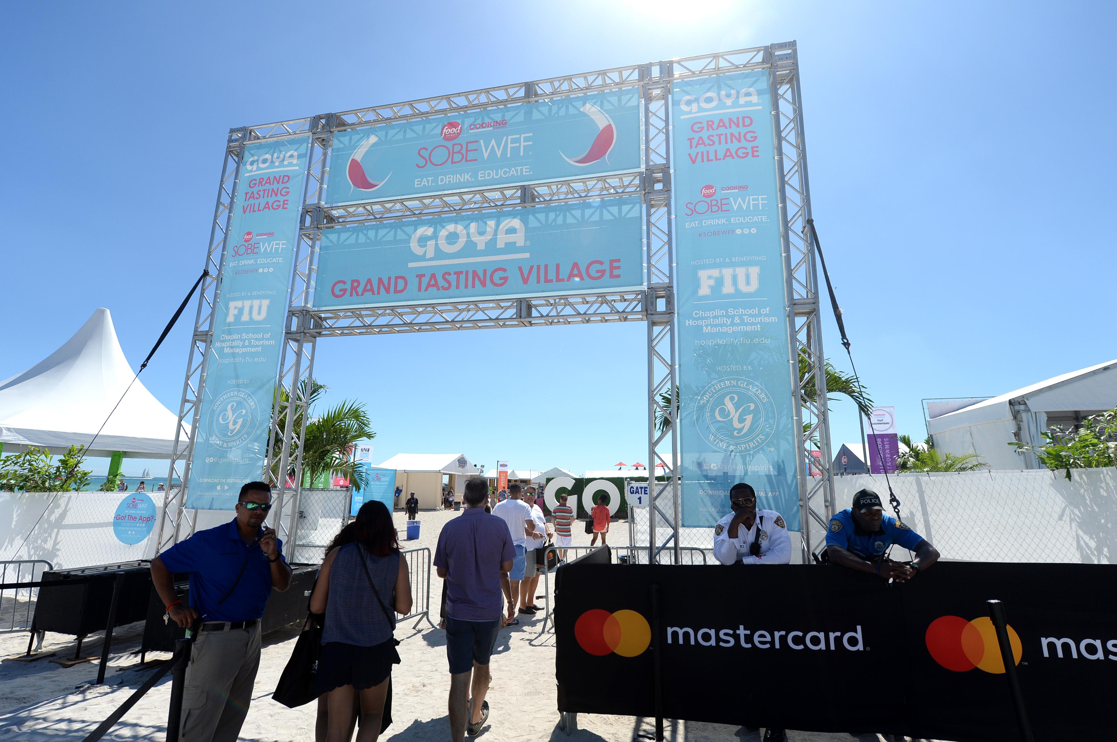 Goya Foods' Grand Tasting Village Featuring Mastercard Grand Tasting Tents & KitchenAid Culinary Demonstrations - Day 1