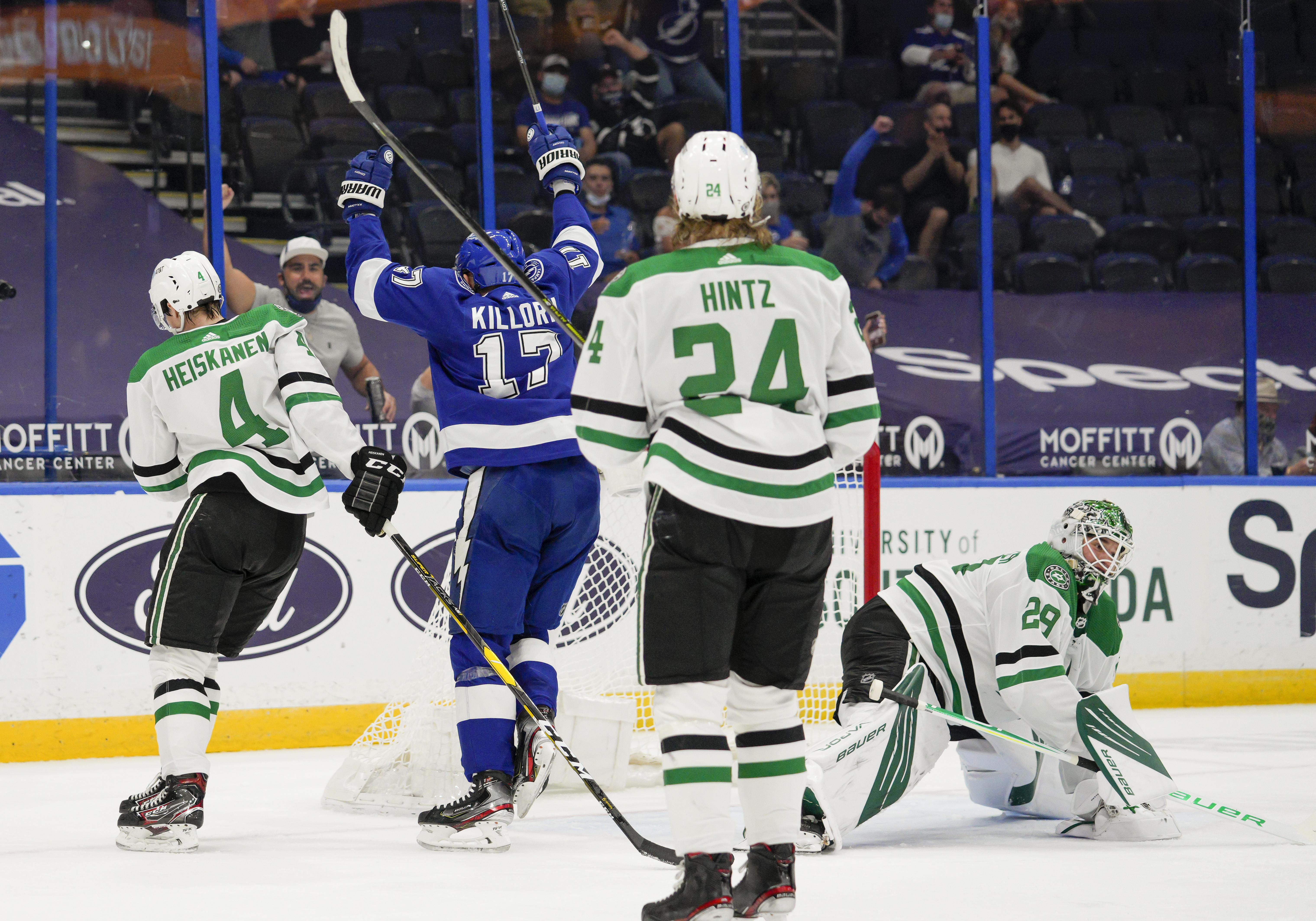NHL: MAY 05 Stars at Lightning