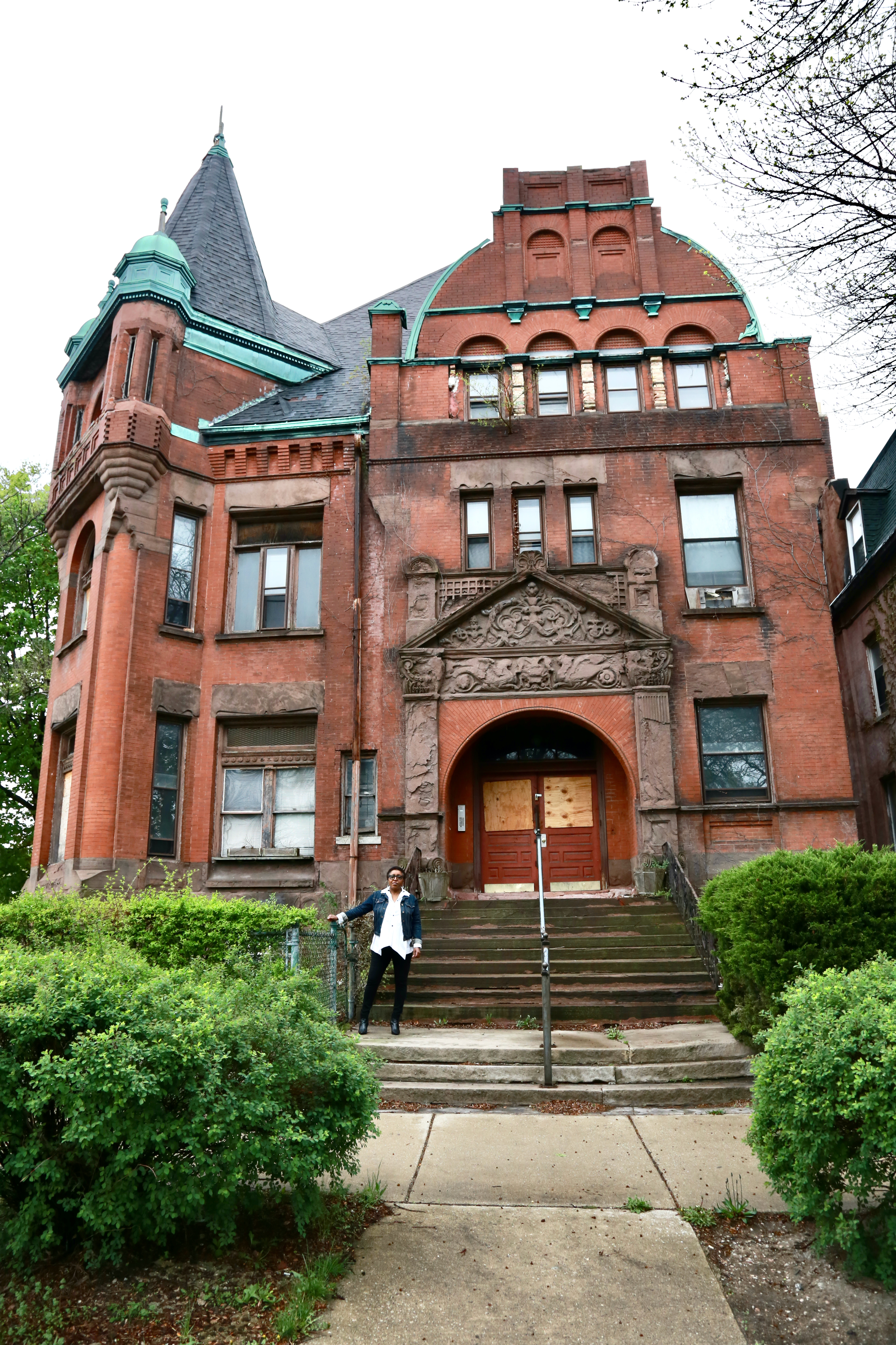 On April 22, Angela Ford of The Obsidian Collection closed on a $1.25 million loan to become new owner of Bronzeville's long vacant historic Lu Palmer Mansion. Ford is free to establish a museum, library and archive there, and is frustrated by the process to obtain a zoning change from the alderman to rent meeting space and offer modest retail.