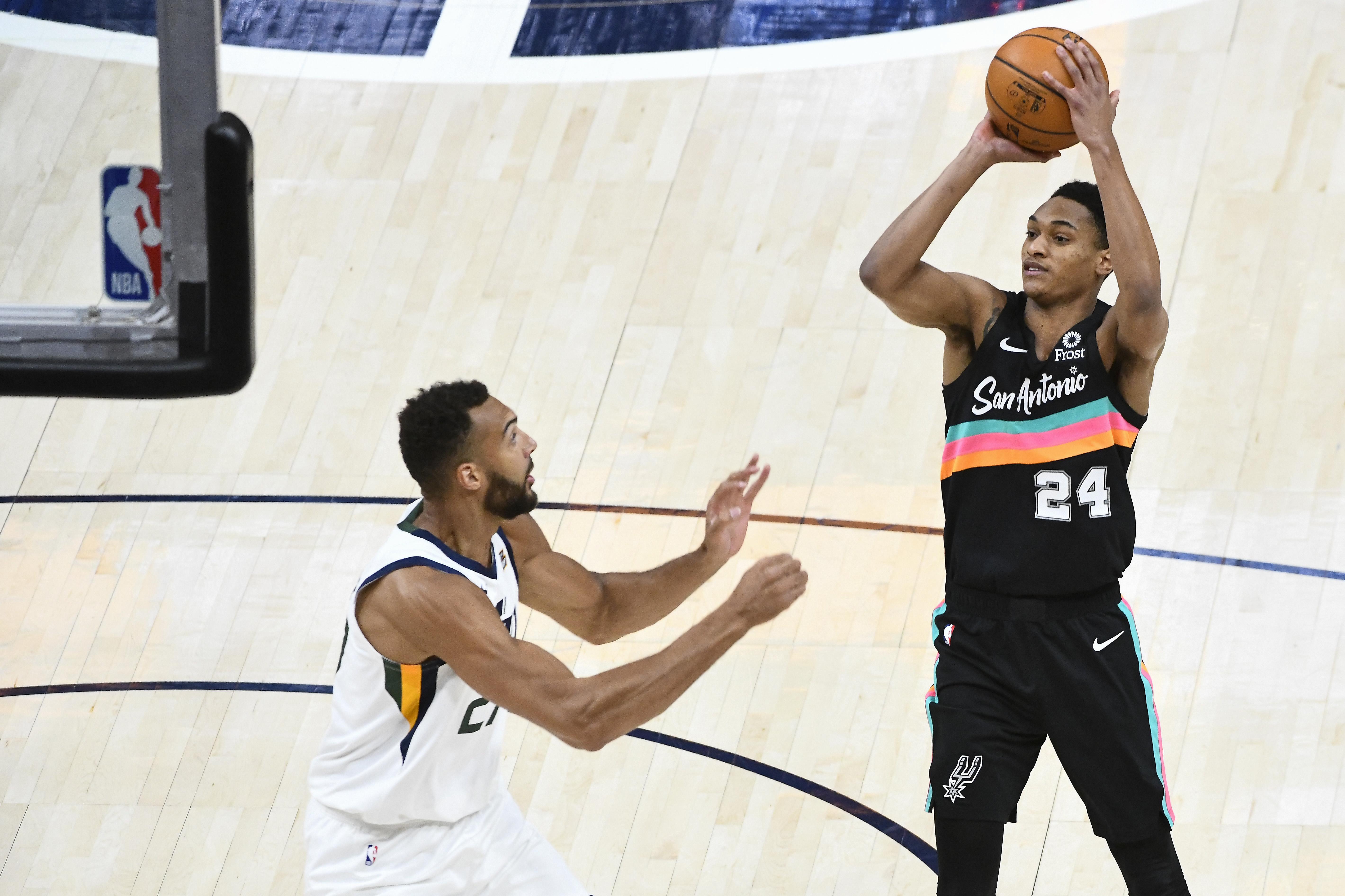 San Antonio Spurs v Utah Jazz